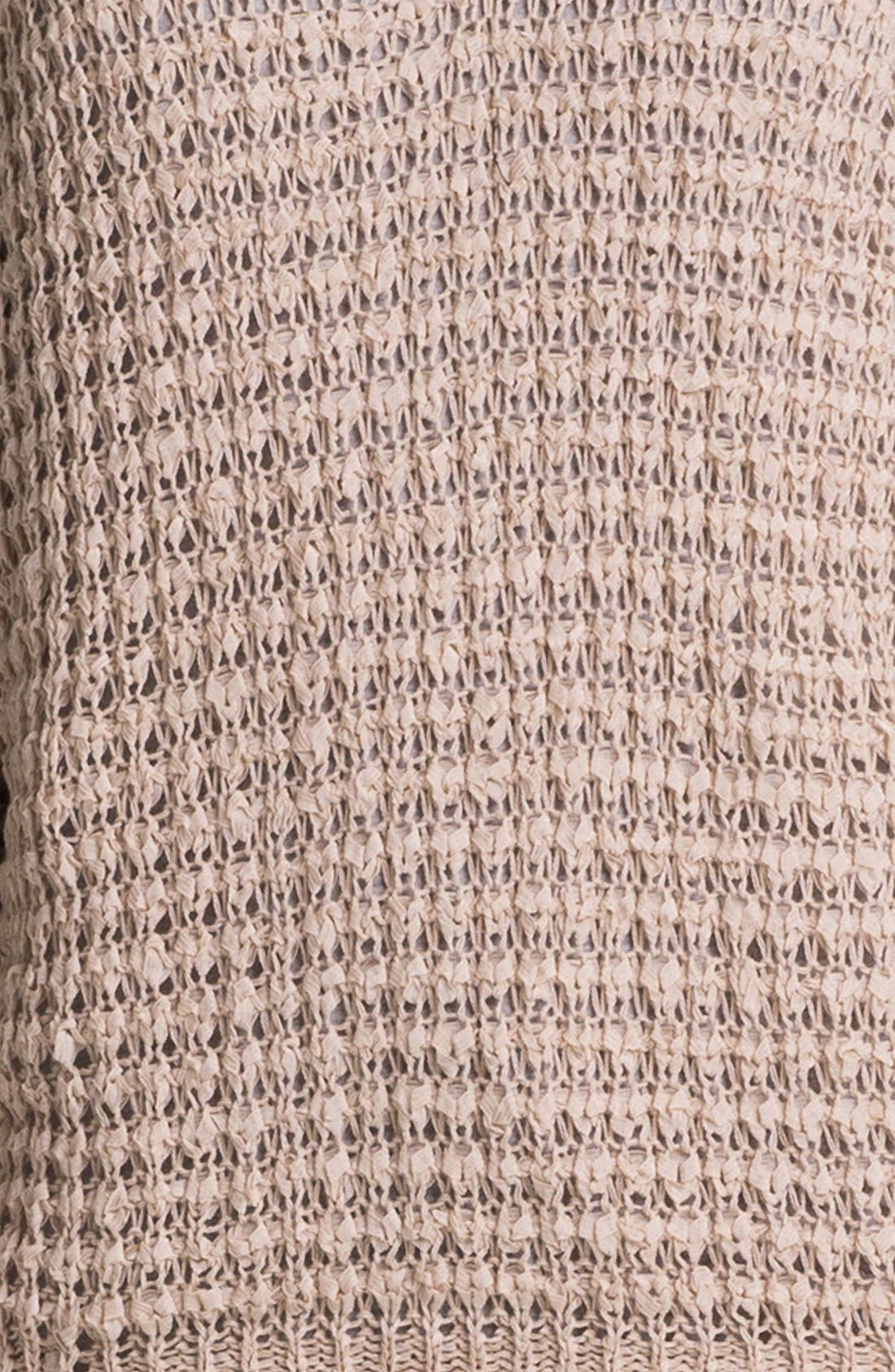 Alternate Image 3  - Caslon® V-Neck Ribbon Yarn Sweater