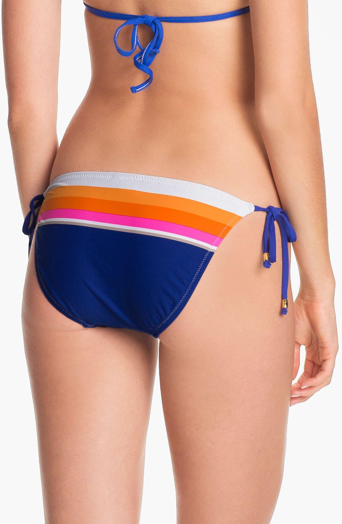 Alternate Image 2  - Trina Turk 'Avalon' Side Tie Bikini Bottoms