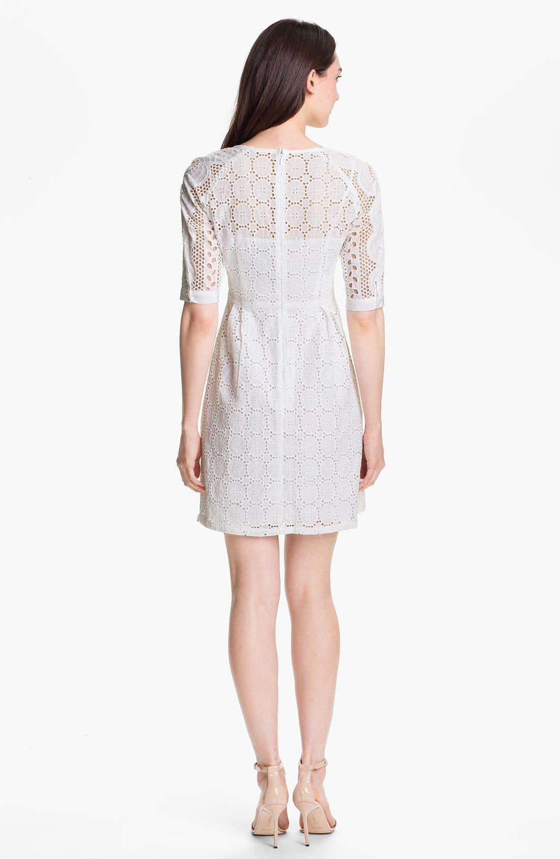 Alternate Image 2  - Nanette Lepore 'Sandy Beach' Cotton A-Line Dress