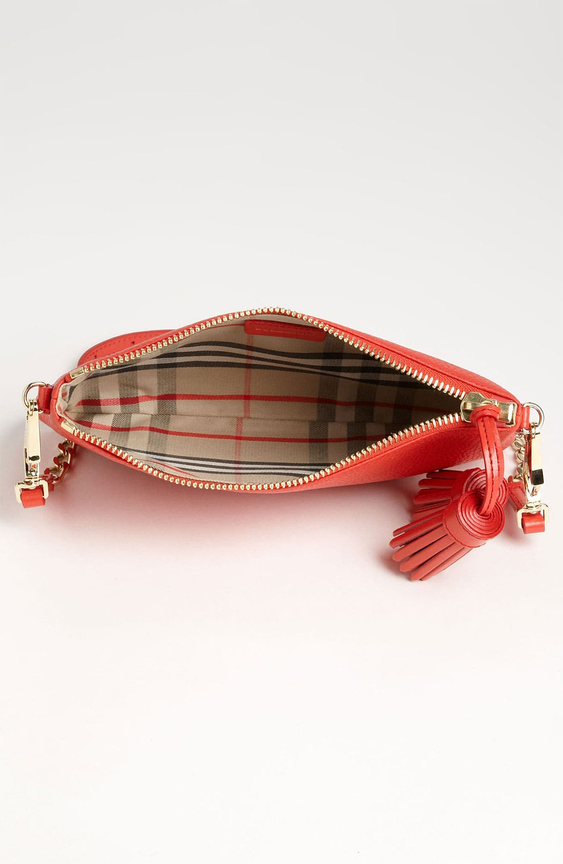 Alternate Image 3  - Burberry 'London Grainy' Crossbody Clutch