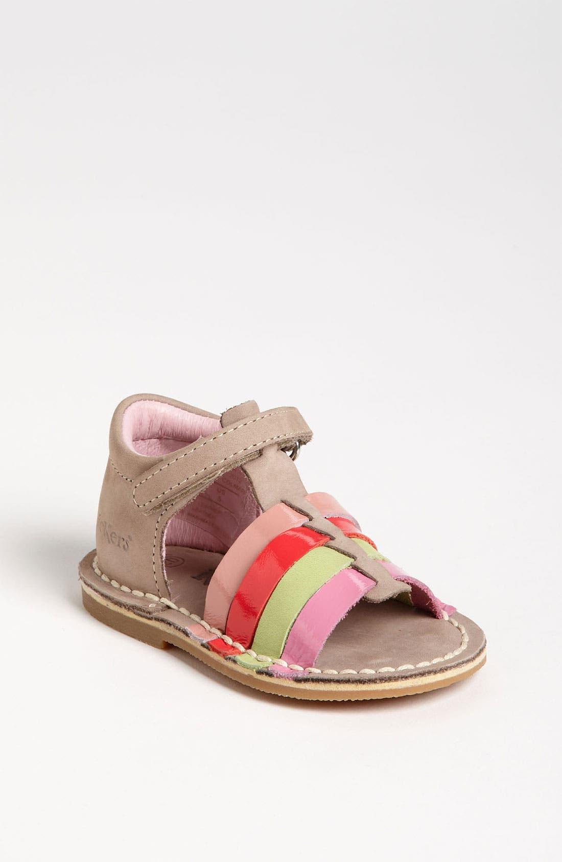 Alternate Image 1 Selected - Kickers 'Colmar' Sandal (Baby, Walker & Toddler)