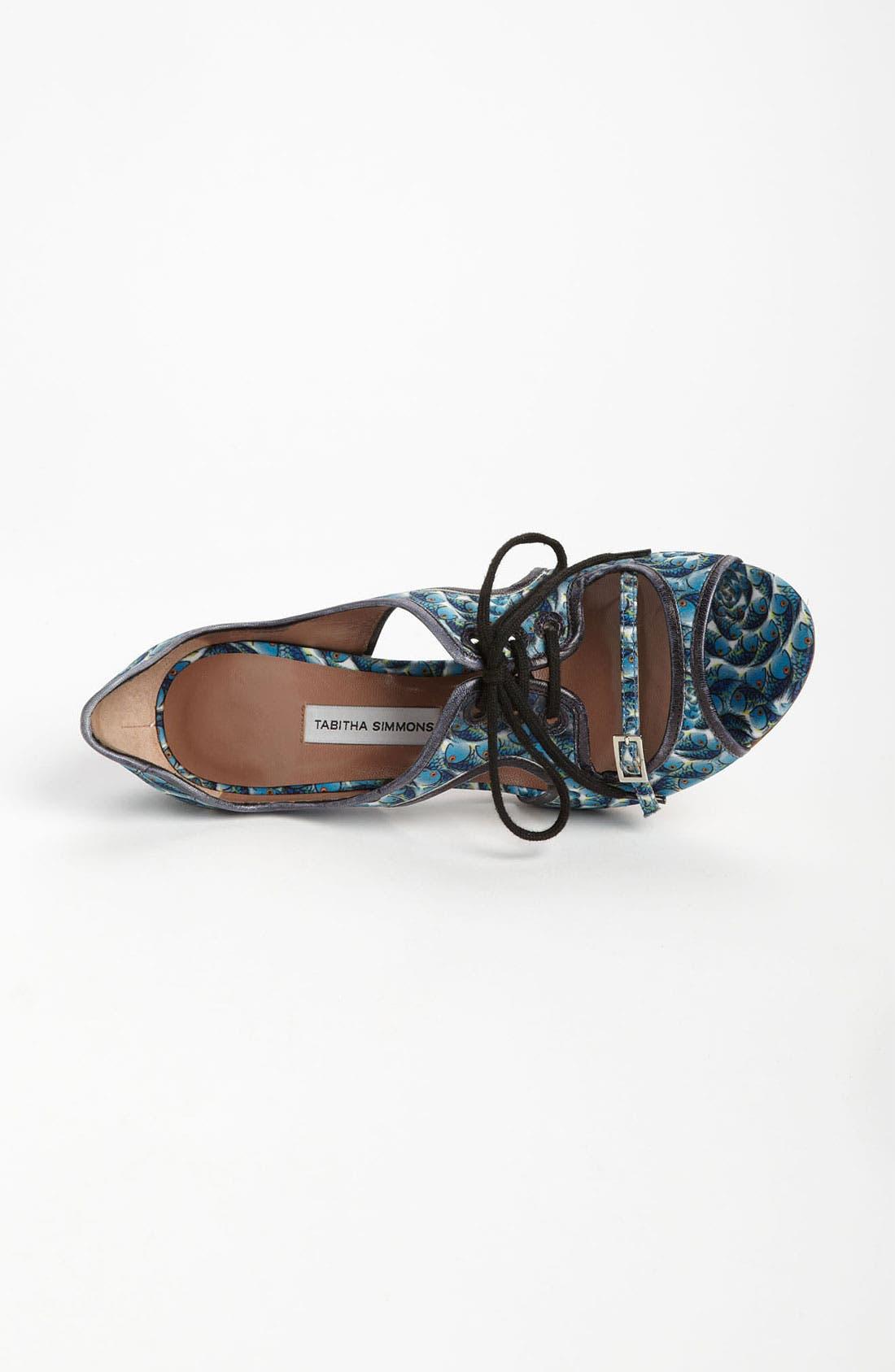 Alternate Image 3  - Tabitha Simmons 'Bertie' Cutout Fish Print Sandal