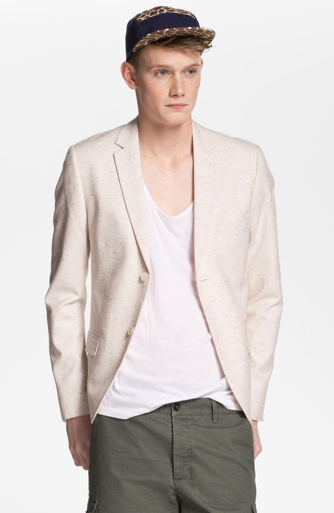 Alternate Image 1 Selected - Topman Skinny Fit Blazer