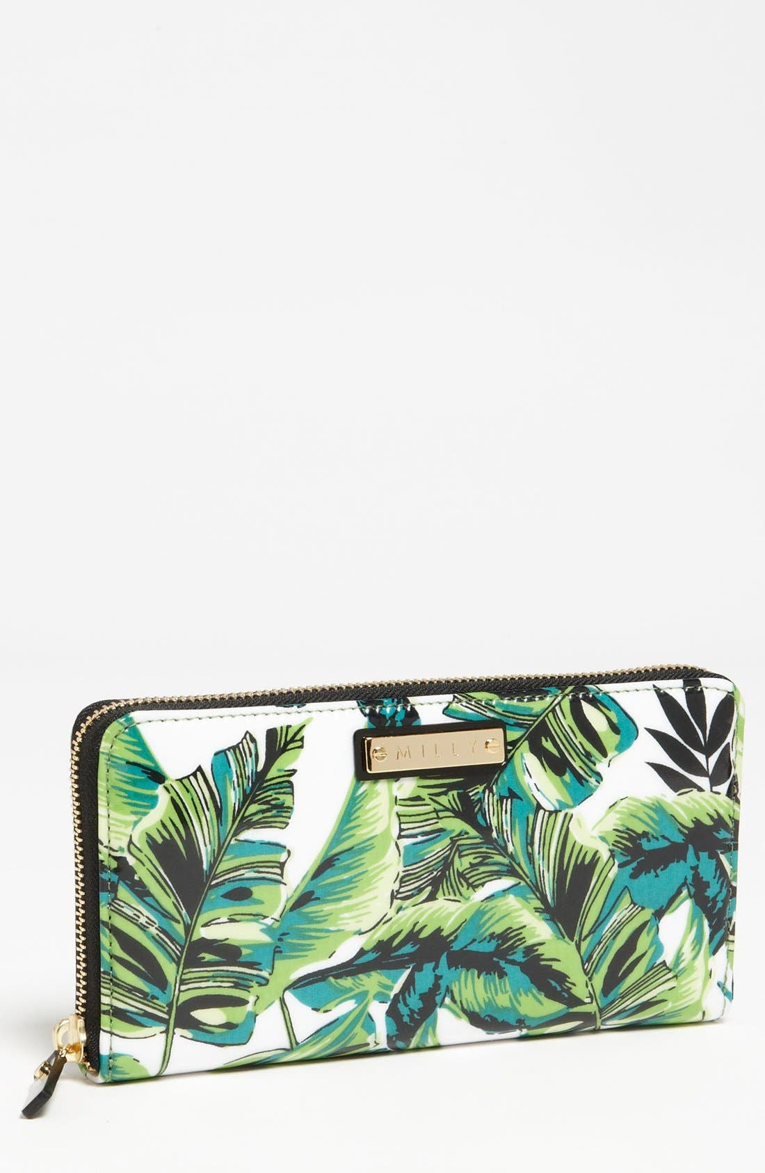 Main Image - Milly 'Banana Leaf' Wallet