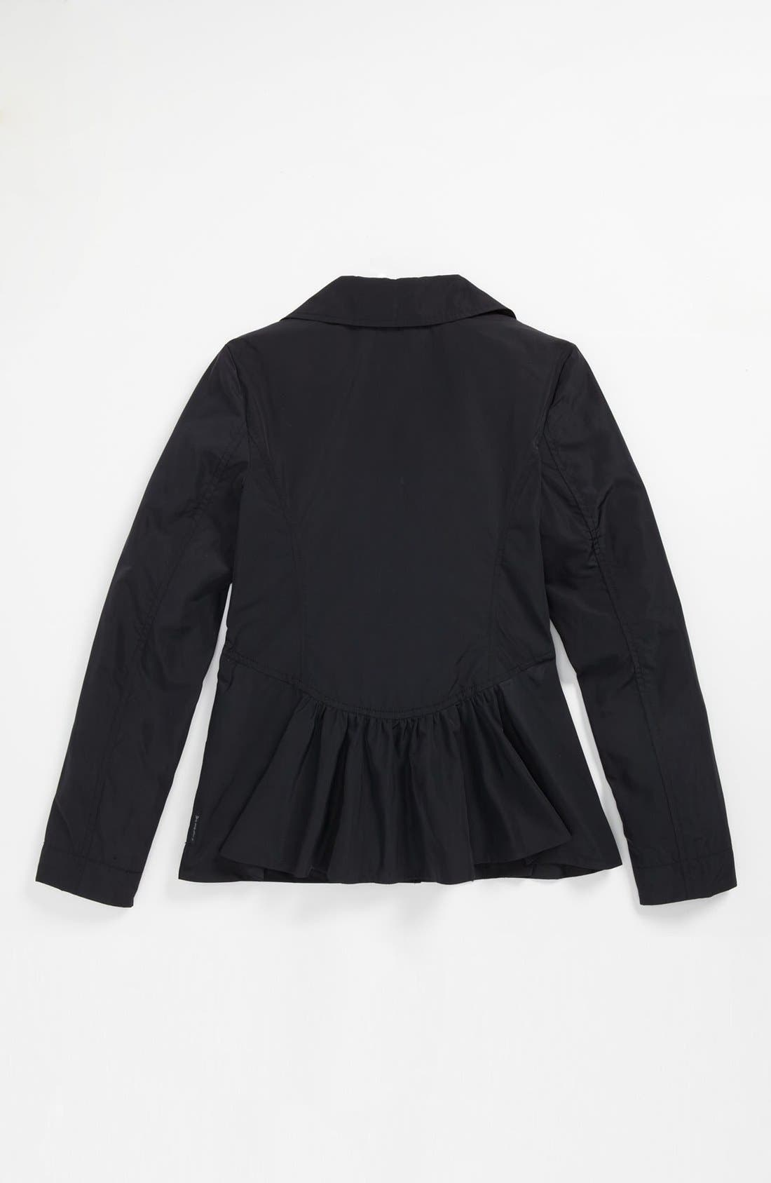 Alternate Image 2  - Armani Junior Jacket (Big Girls)