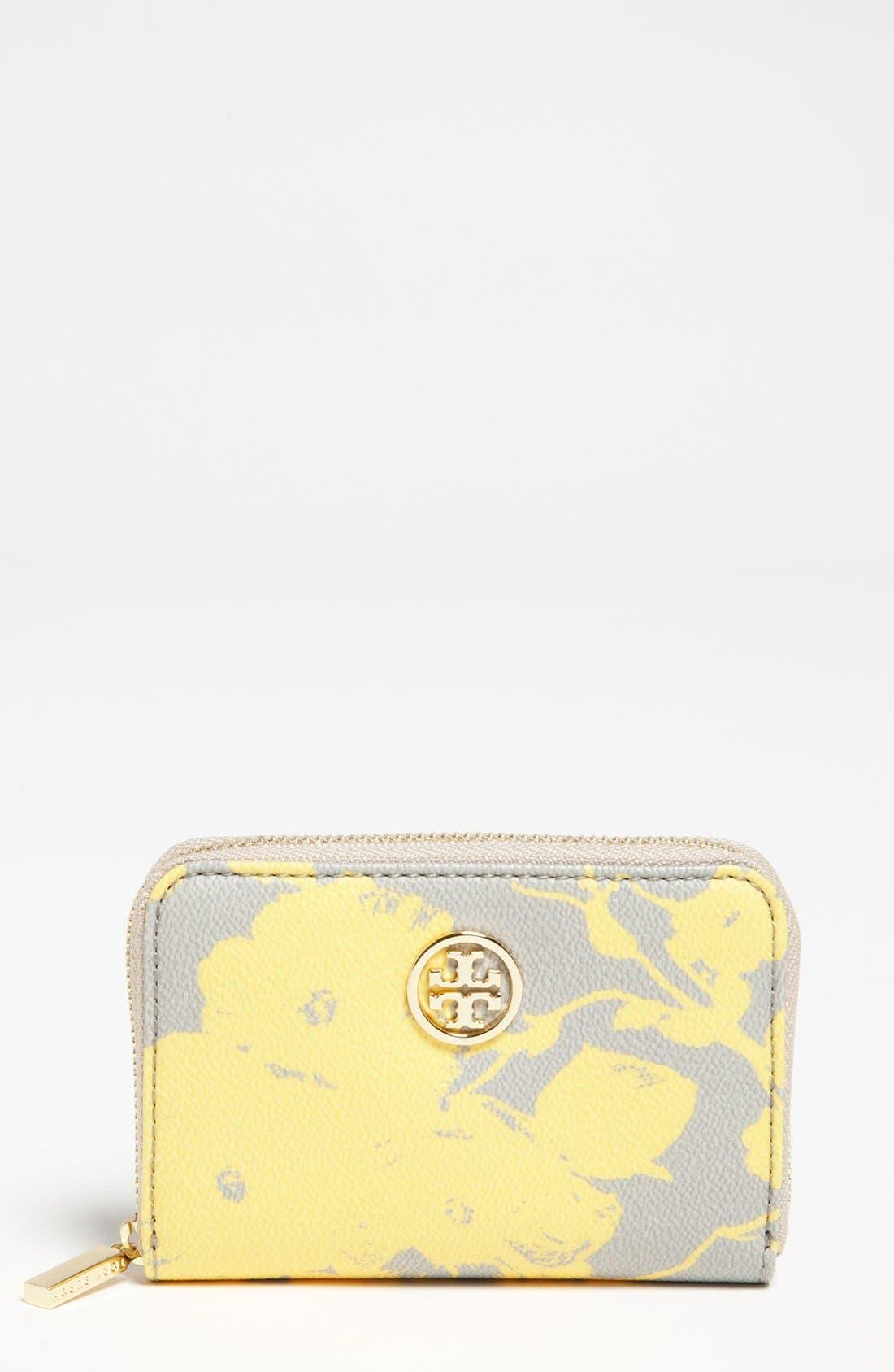 Main Image - Tory Burch 'Robinson' Coin Wallet