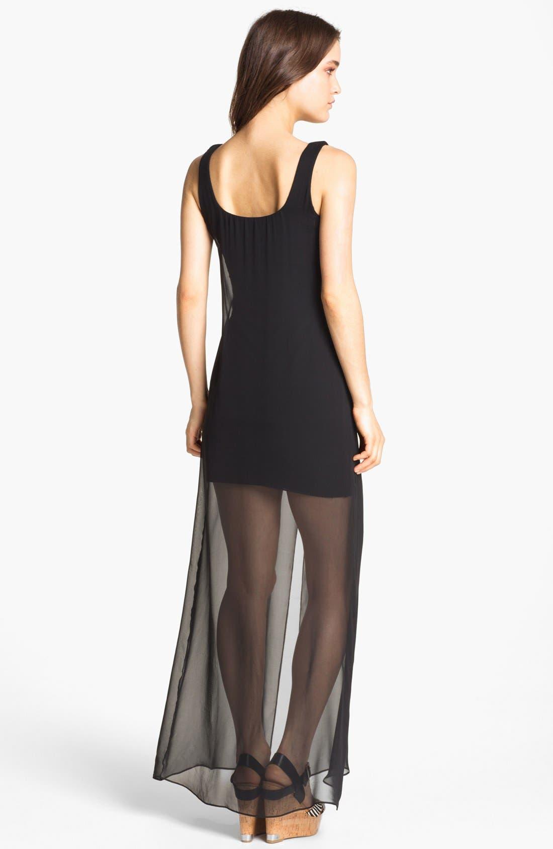 Alternate Image 2  - Bailey 44 'Sea Nettle' Sheer Slit Maxi Dress