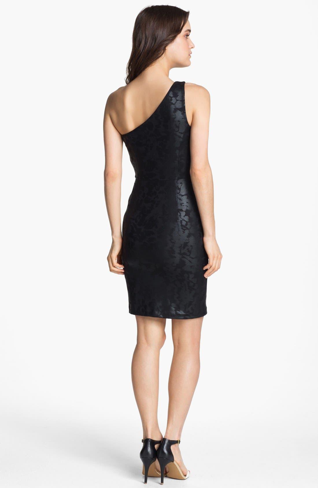 Alternate Image 2  - ERIN erin fetherston One Shoulder Sheath Dress