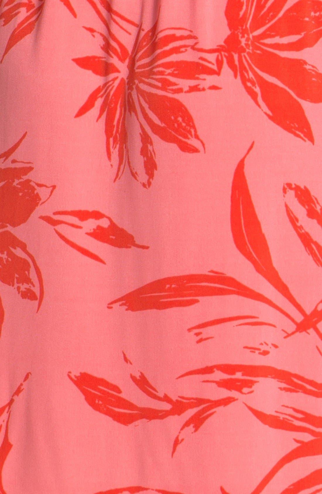 Alternate Image 3  - Anne Klein Floral Print Shirtdress