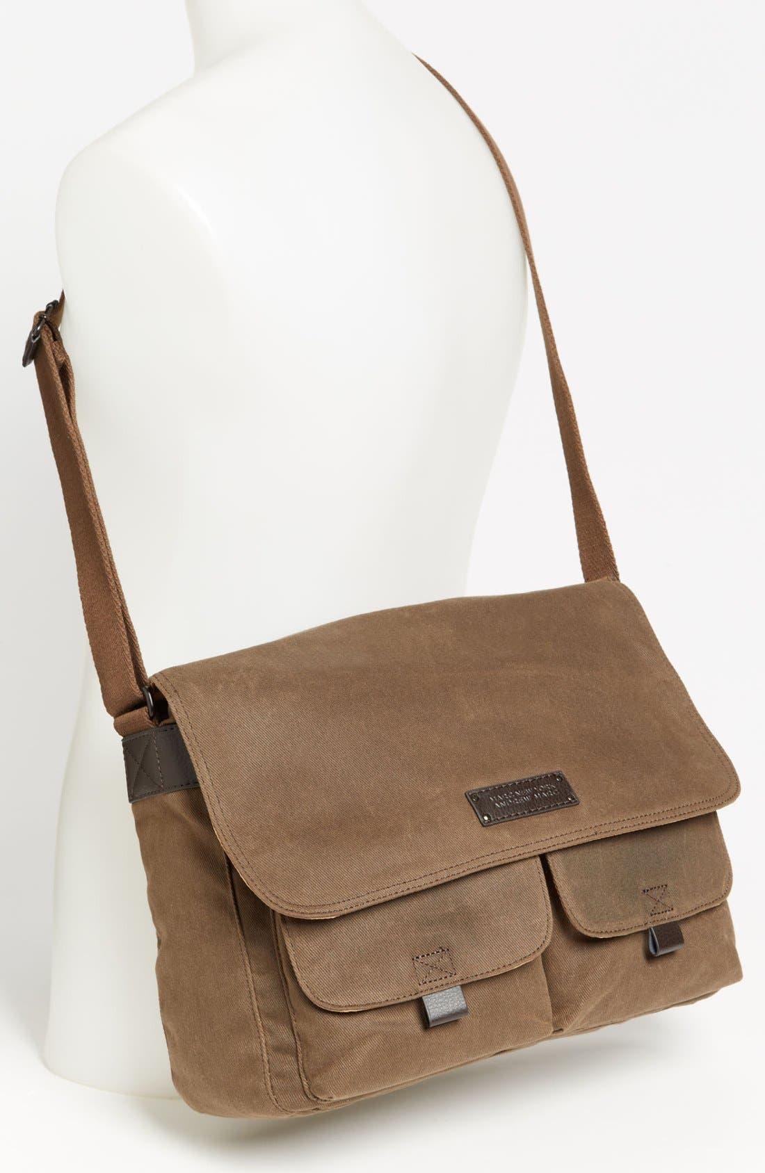 Alternate Image 4  - Andrew Marc 'Essex' Twill Messenger Bag