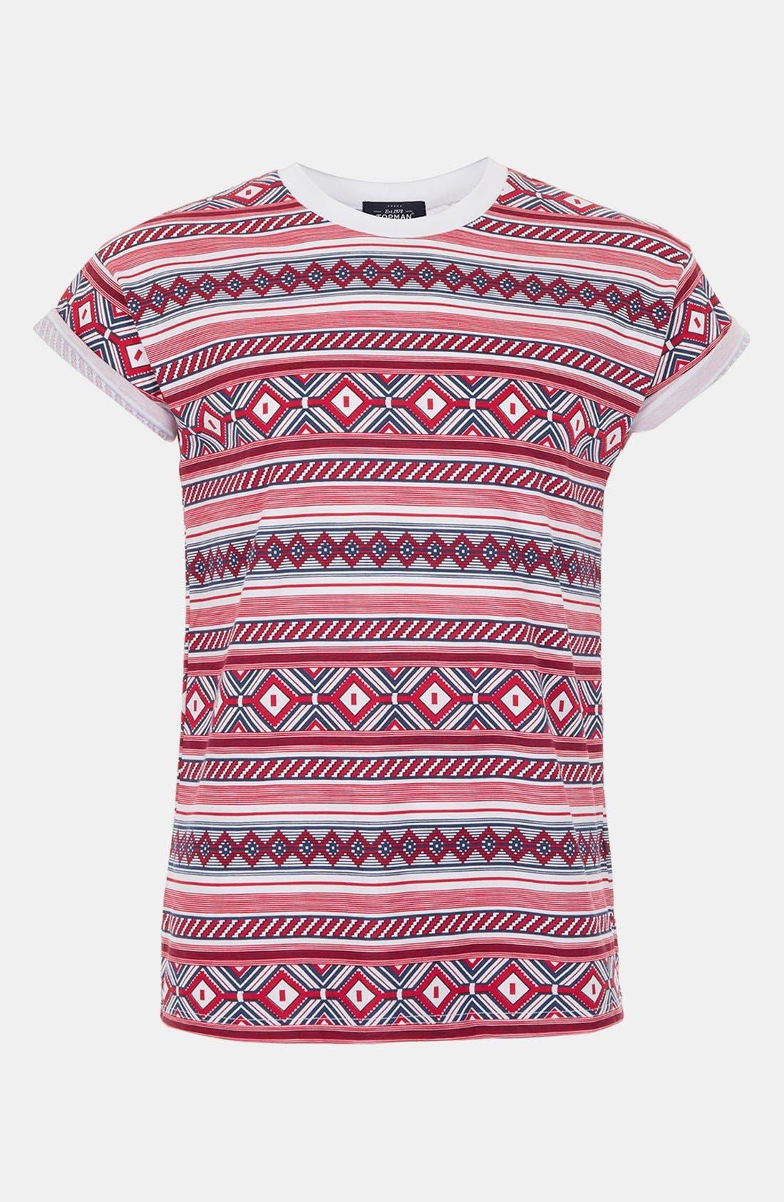 Alternate Image 1 Selected - Topman 'High Roller' T-Shirt