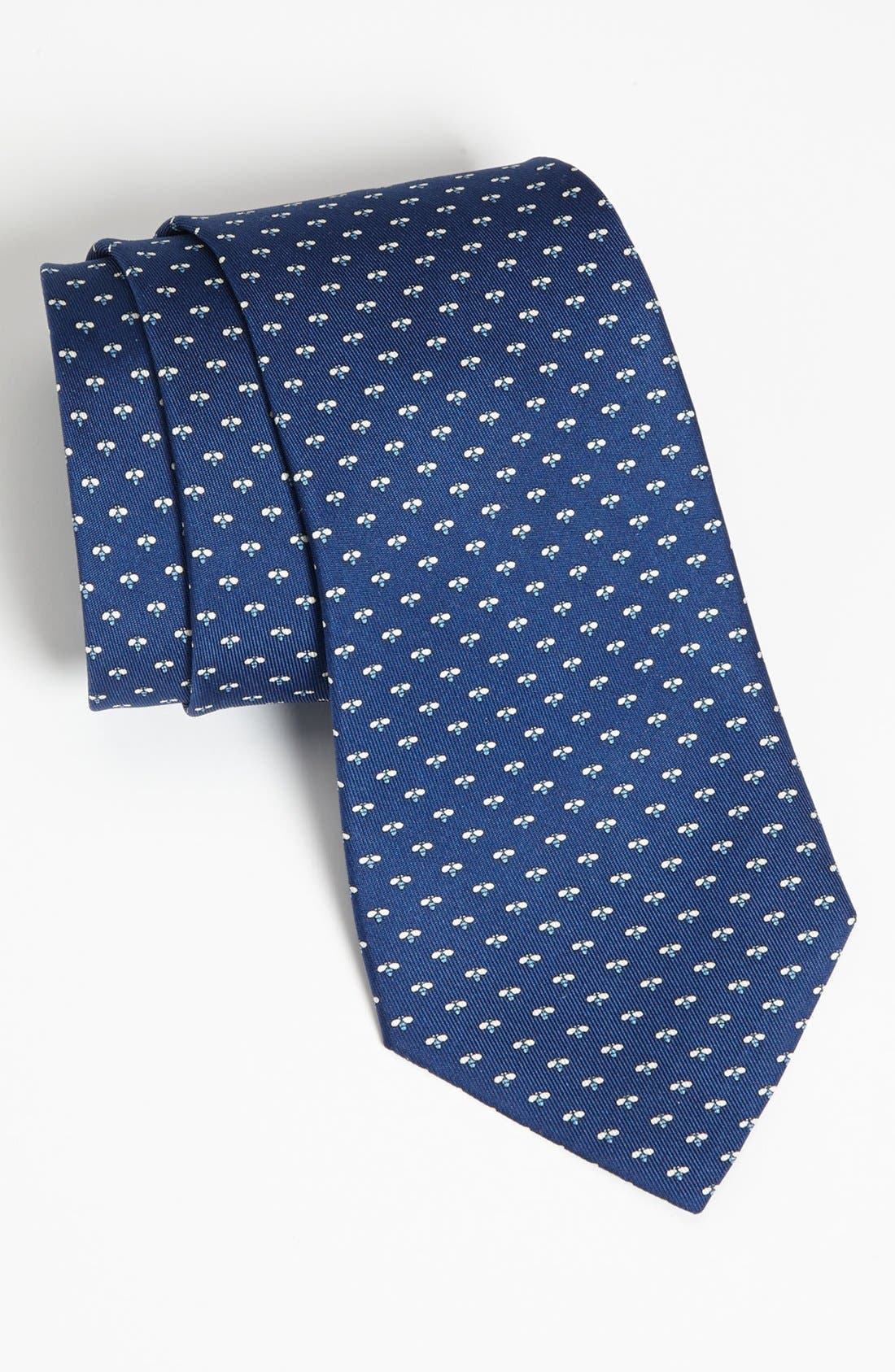 Alternate Image 1 Selected - Salvatore Ferragamo Firefly Print Silk Tie
