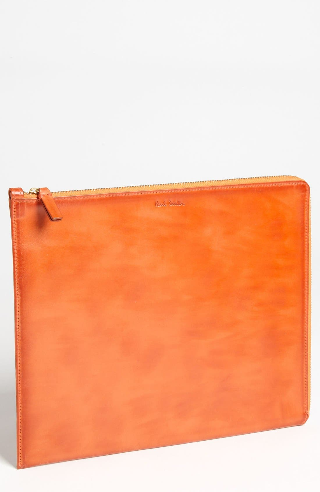 Alternate Image 1 Selected - Paul Smith Accessories Burnished Leather Tablet Case