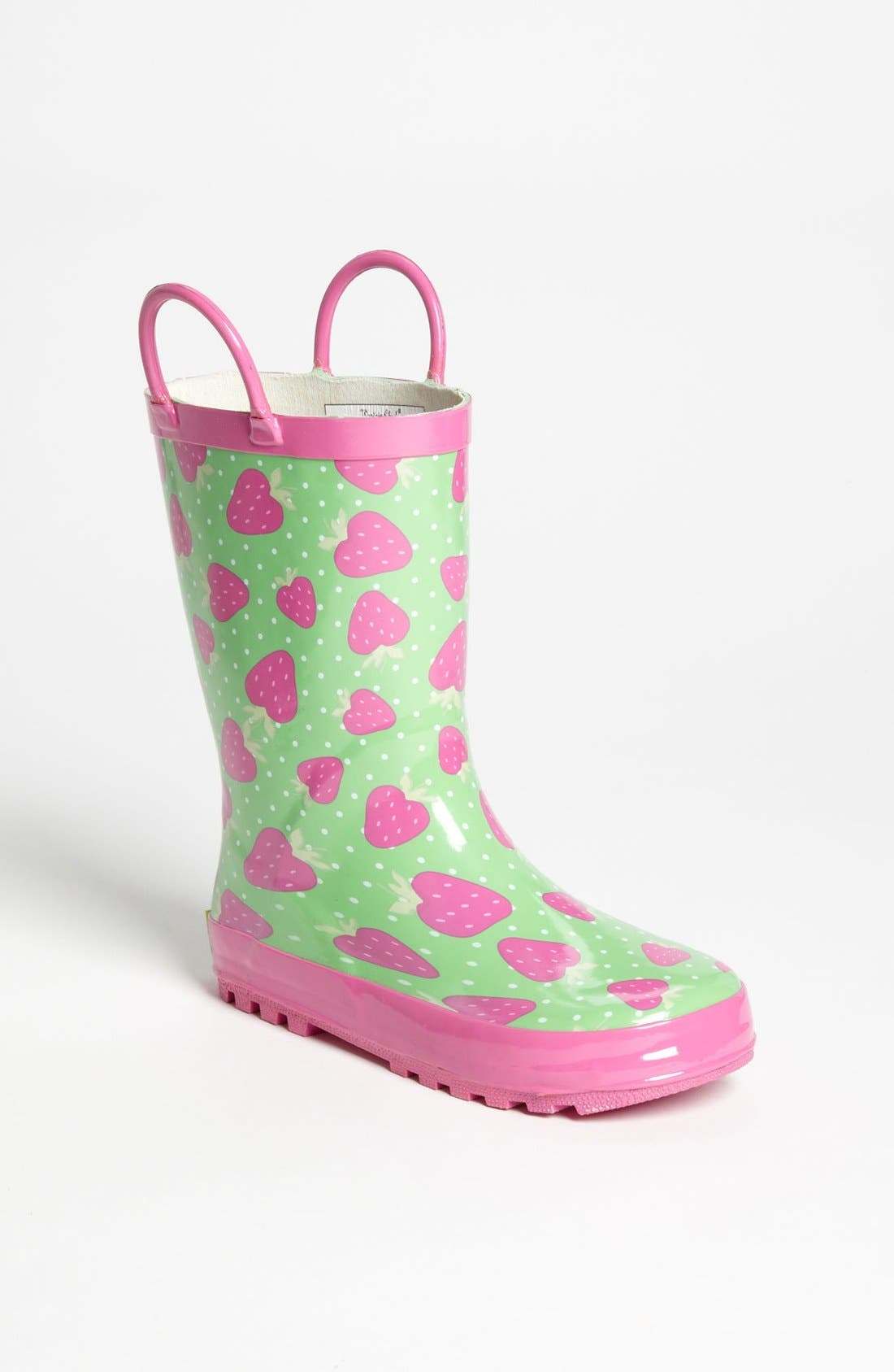 Alternate Image 1 Selected - Western Chief 'Strawberry Toss' Rain Boot (Toddler & Little Kid)