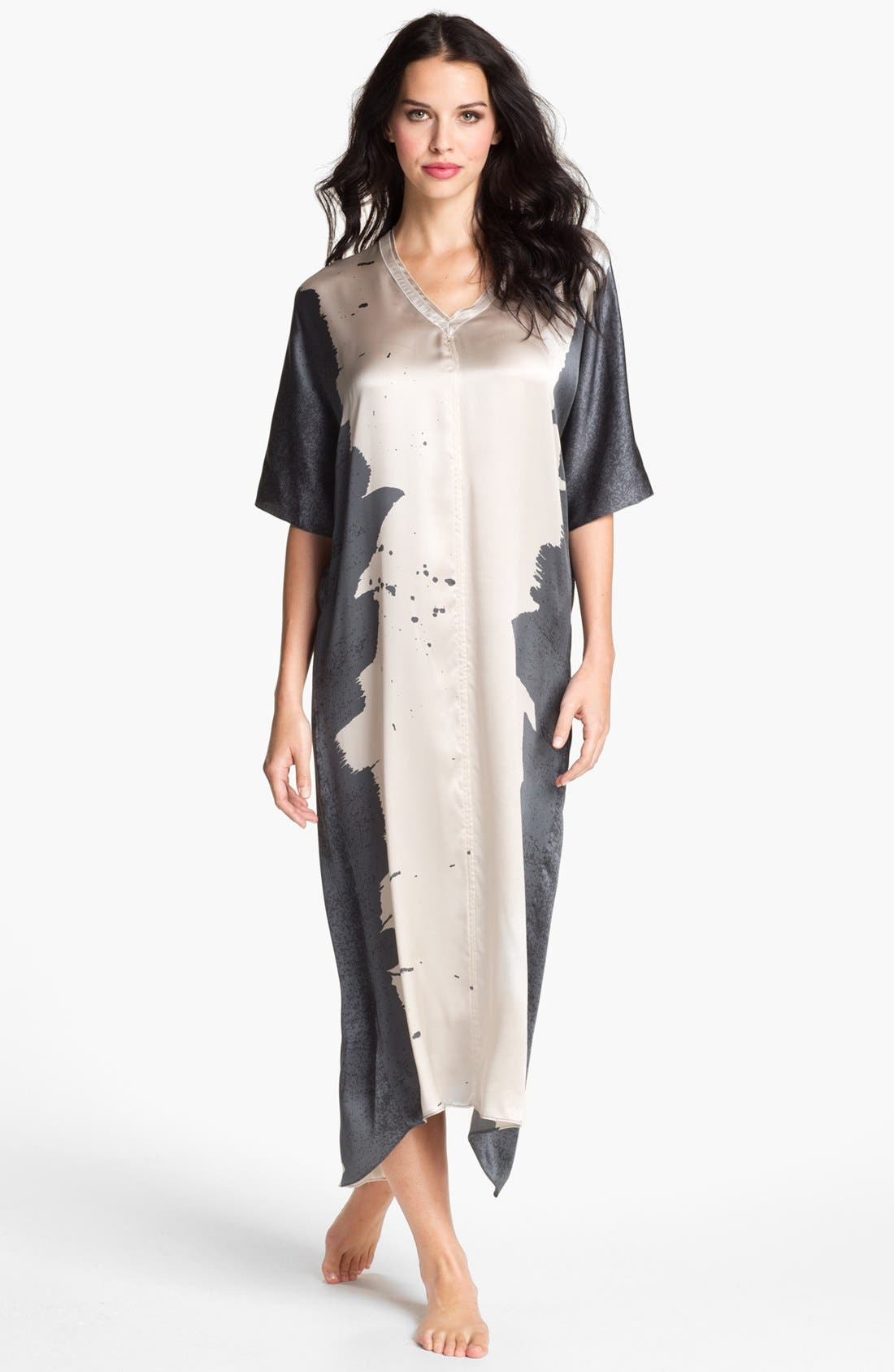 Alternate Image 1 Selected - Donna Karan 'Glamour' Silk Caftan