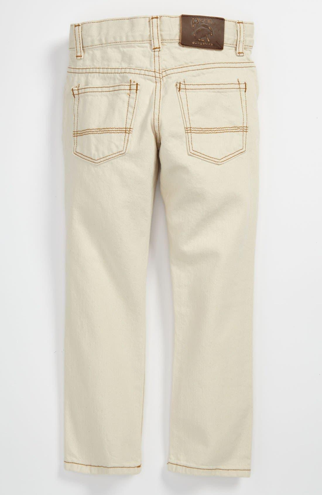 Main Image - Peek 'Slouch' Jeans (Toddler, Little Boys & Big Boys)