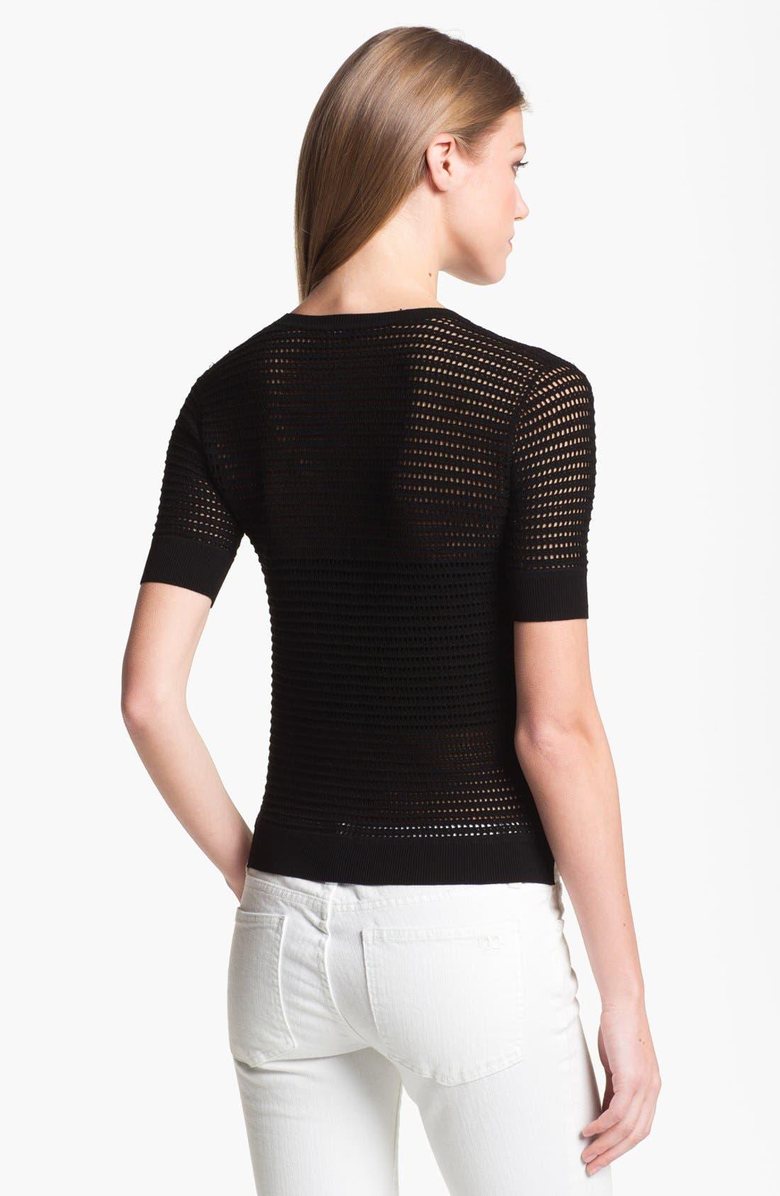 Alternate Image 2  - Theory 'Symon' Crewneck Sweater
