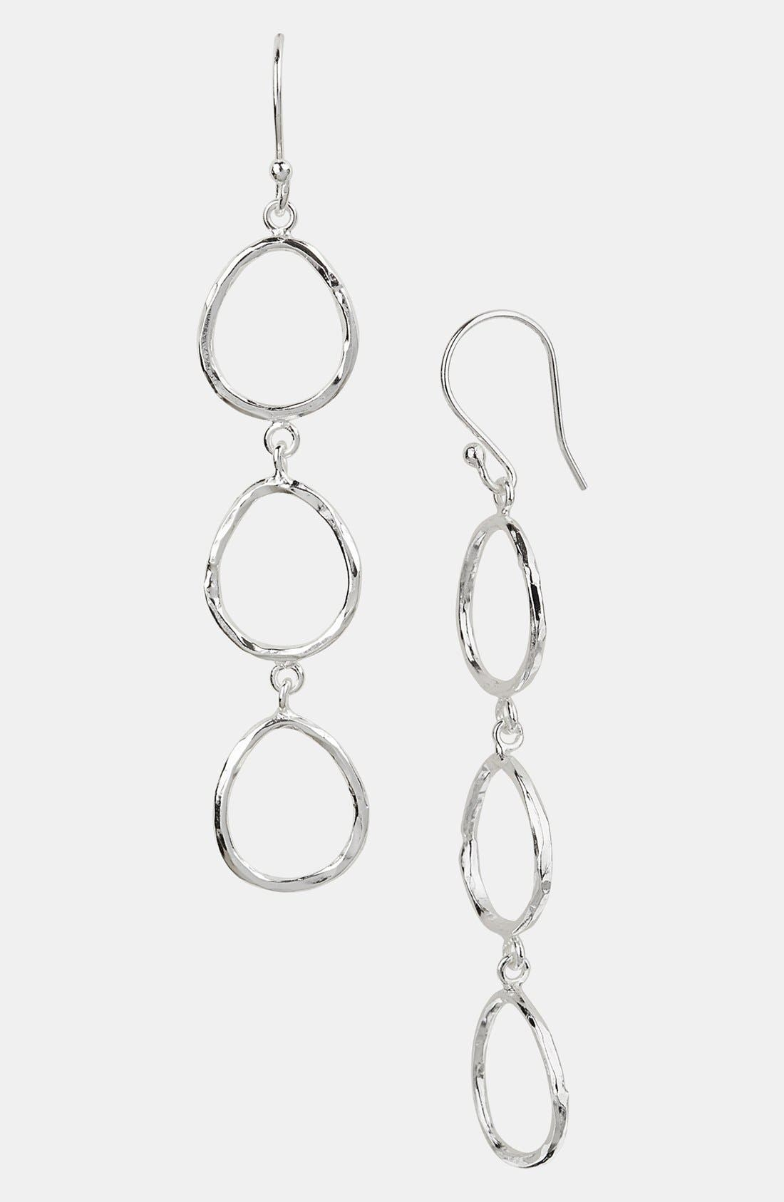 Main Image - Argento Vivo Open Linear Earrings