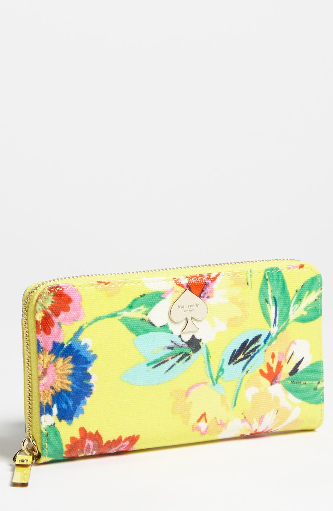 Main Image - kate spade new york 'flicker - lacey' zip around wallet