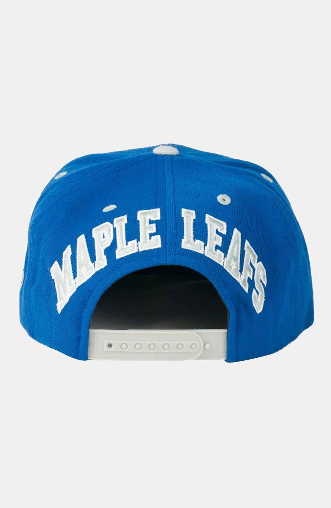 Alternate Image 2  - American Needle 'Toronto Maple Leafs - Blockhead' Snapback Hockey Cap