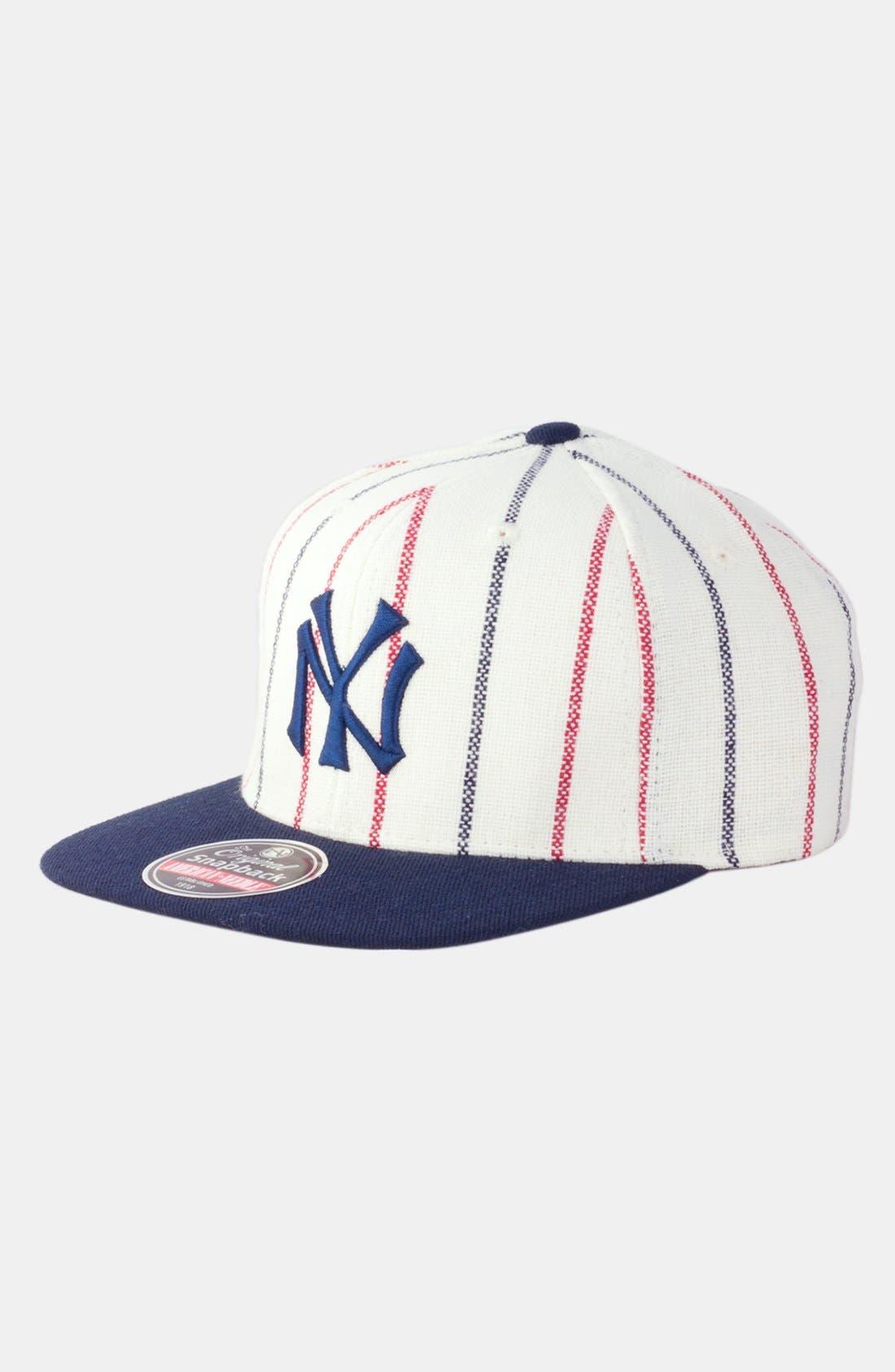 Alternate Image 1 Selected - American Needle 'New York Yankees 1916 - 400 Series' Snapback Baseball Cap