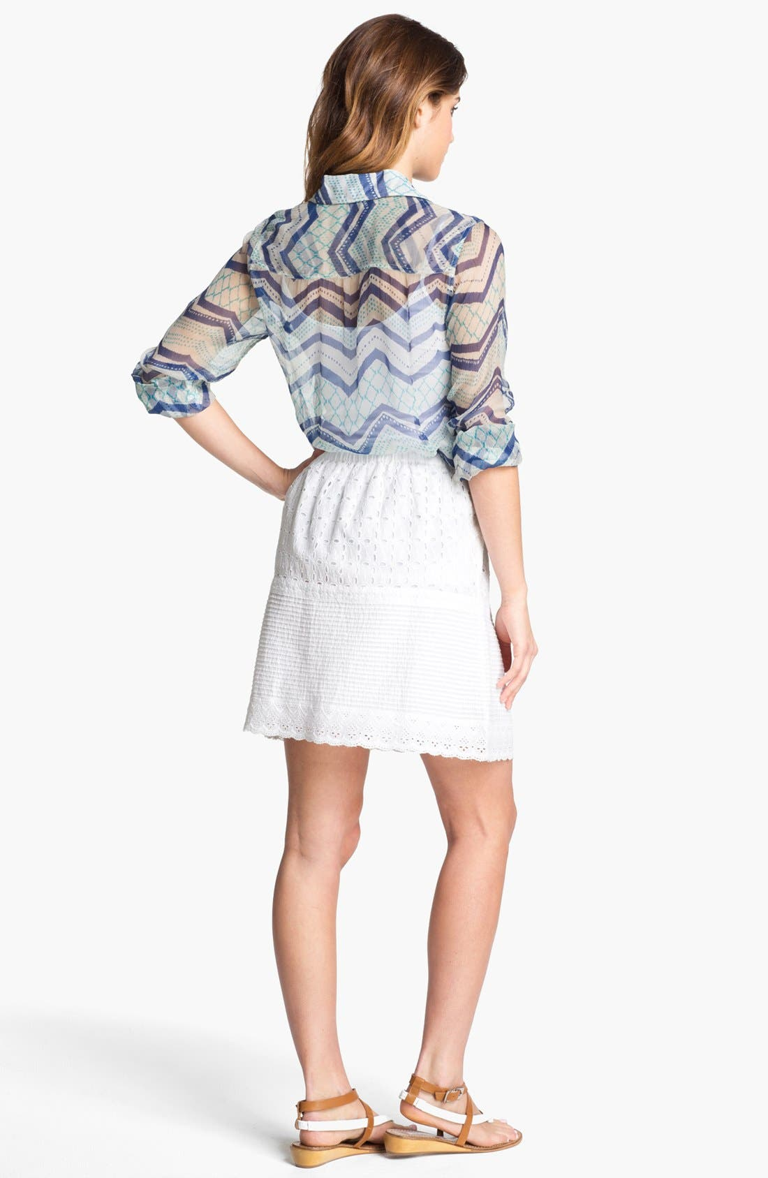 Alternate Image 5  - Lucky Brand 'Jane - Terrenea Stripe' Blouse