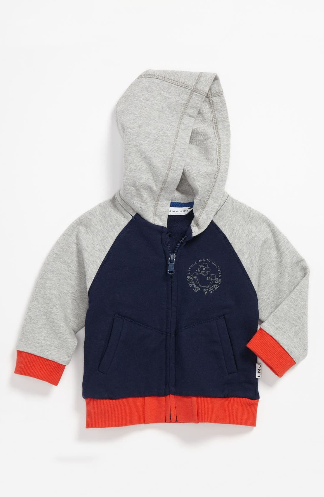 Main Image - LITTLE MARC JACOBS Hoodie (Baby)