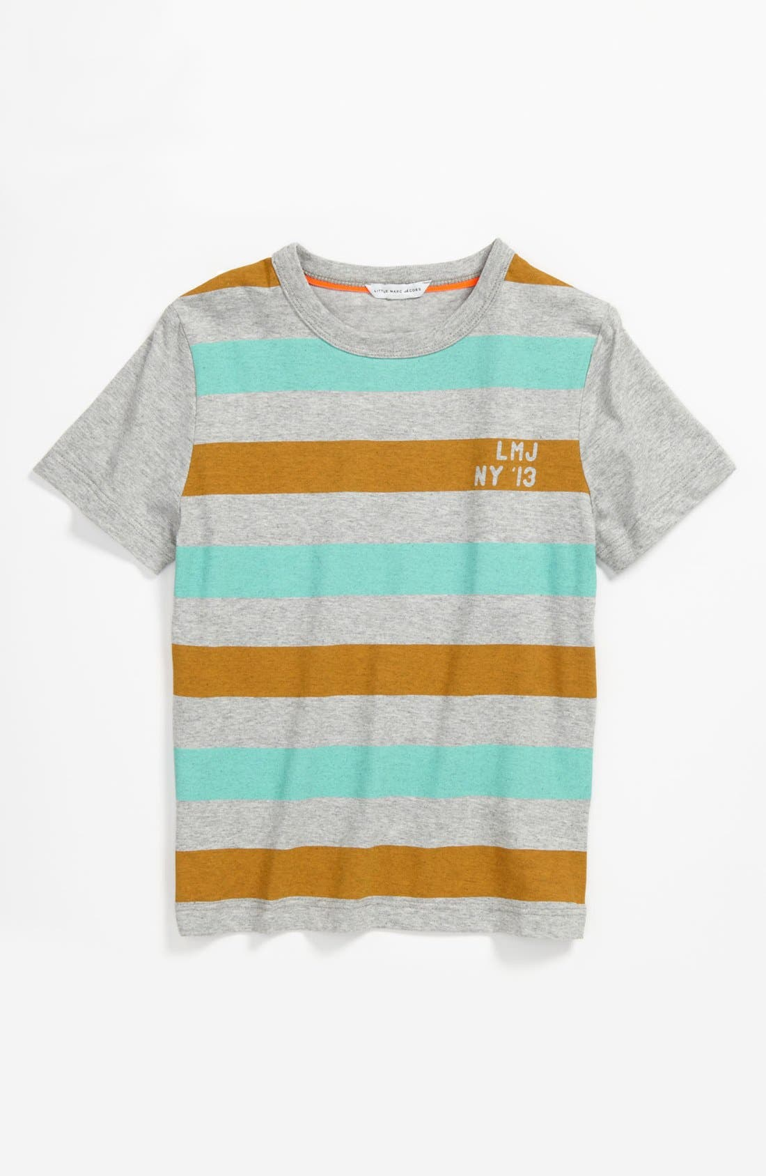 Alternate Image 1 Selected - LITTLE MARC JACOBS Stripe T-Shirt (Big Boys)