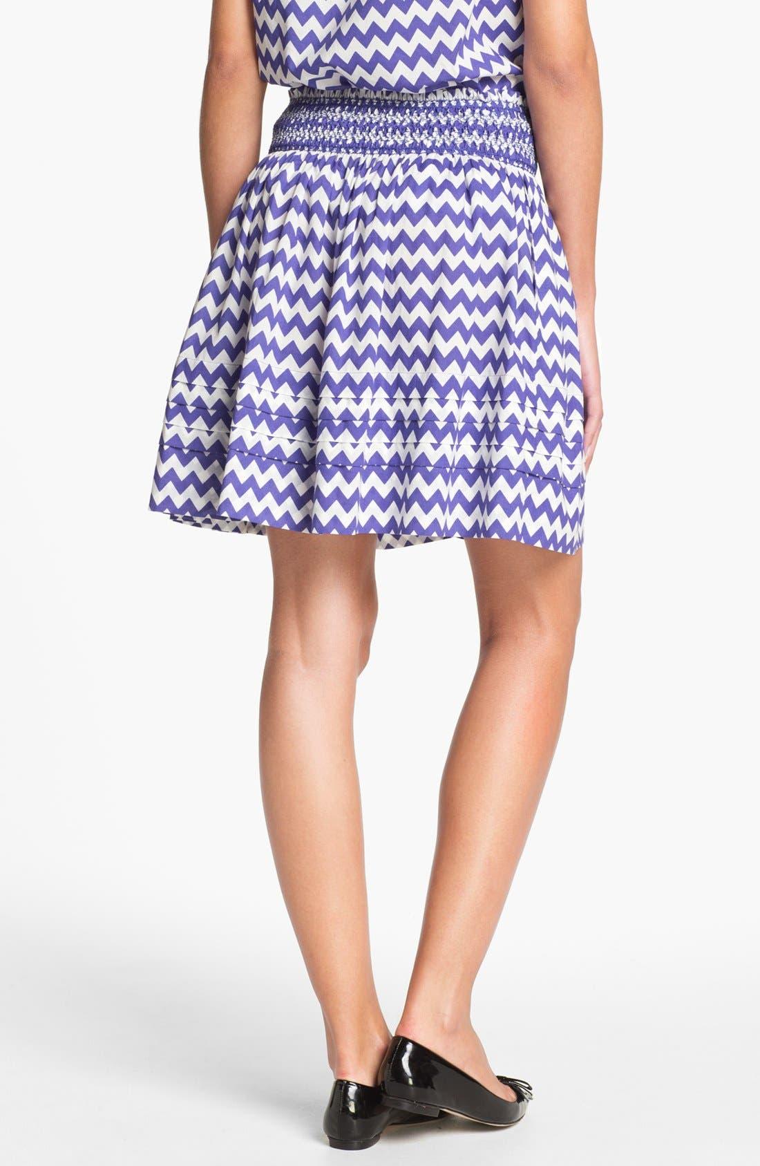 Alternate Image 2  - kate spade new york 'sidney' stripe skirt