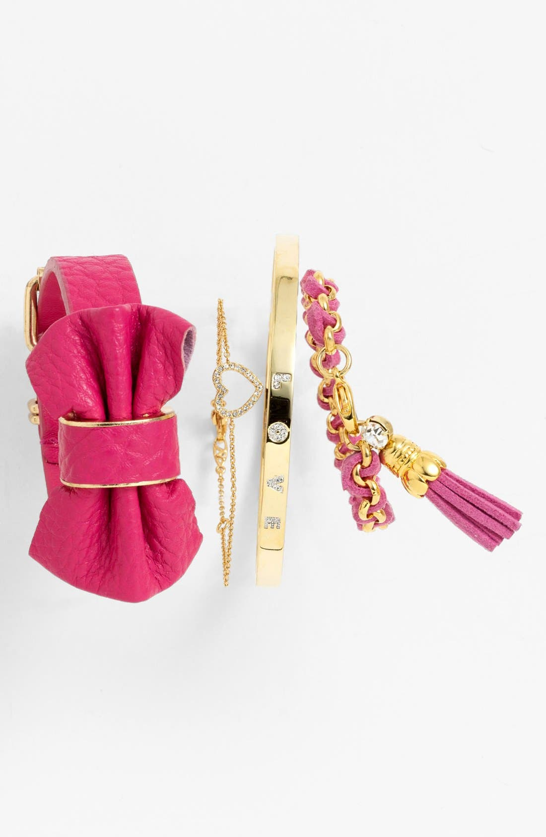 Alternate Image 1 Selected - Ariella Collection Bangle & Cara Bracelets