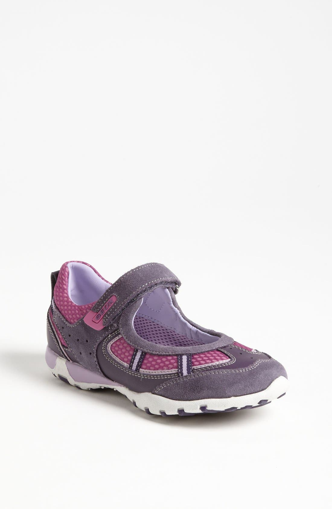 Alternate Image 1 Selected - Geox 'Freccia G' Sneaker (Toddler, Little Kid & Big Kid)