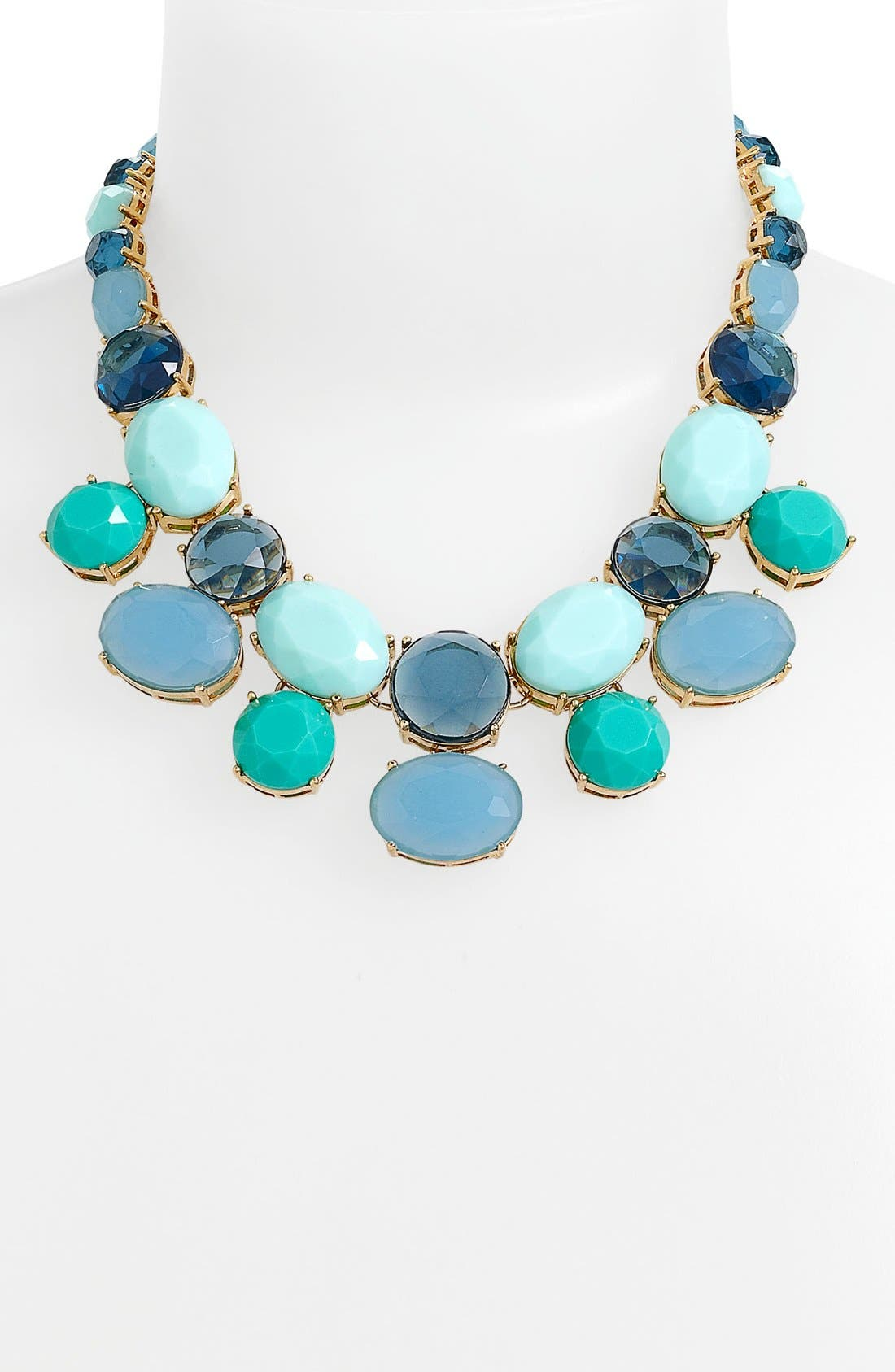 Alternate Image 2  - Anne Klein Stone Necklace
