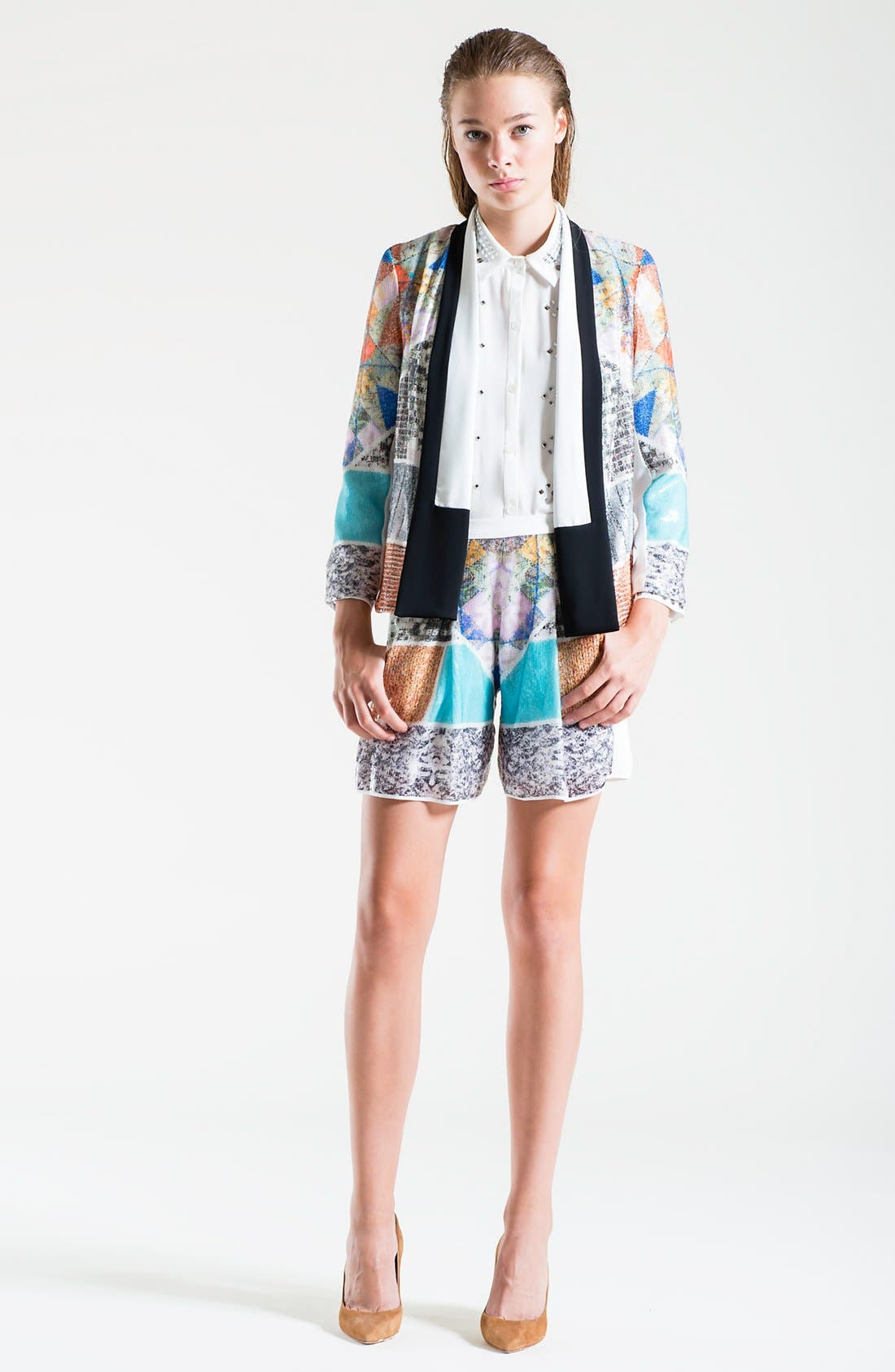 Alternate Image 4  - Clover Canyon 'Roadside Quilt' Sequin Jacket