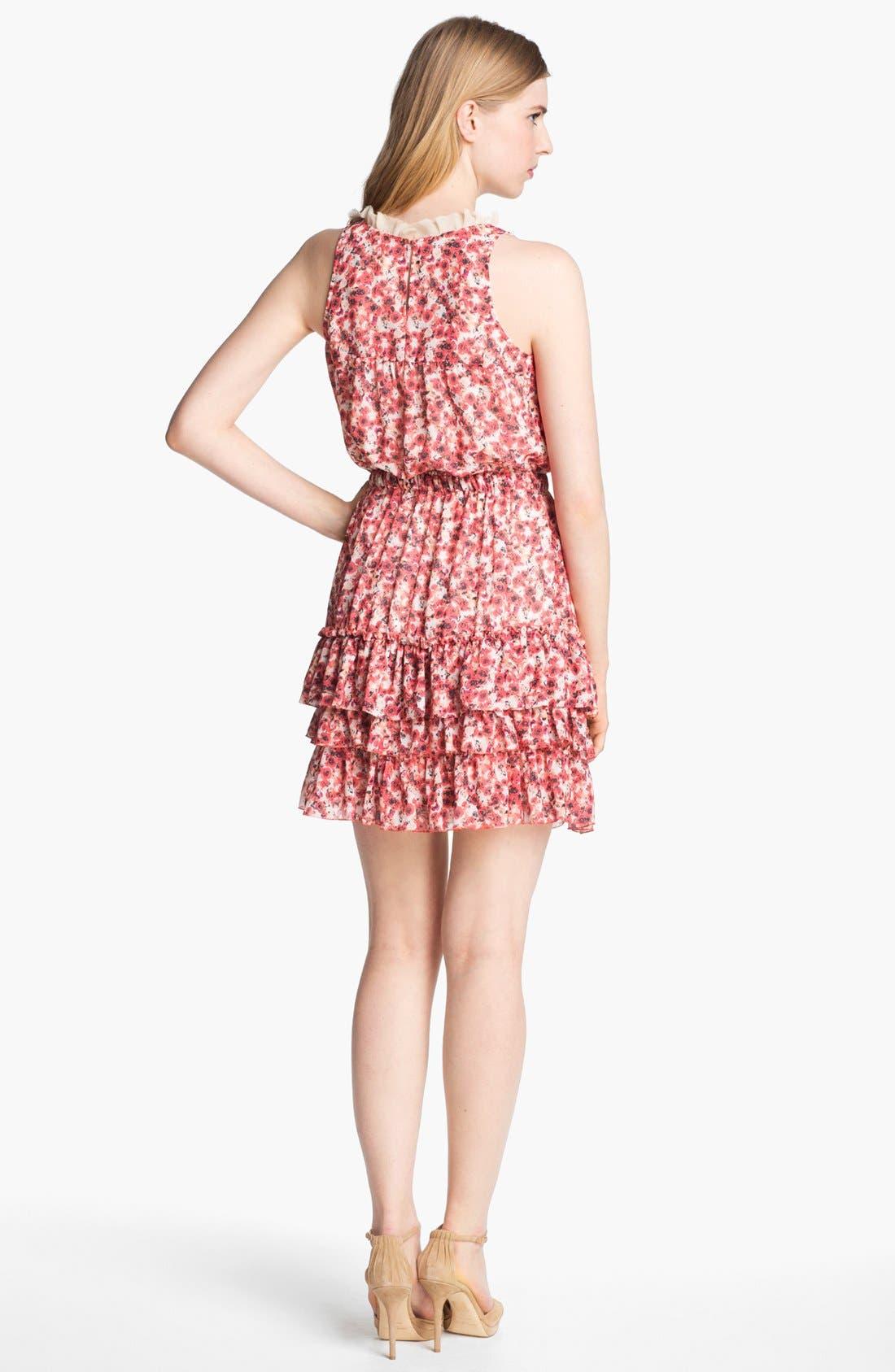 Alternate Image 2  - Mcginn 'Annie' Tiered Floral Print Dress