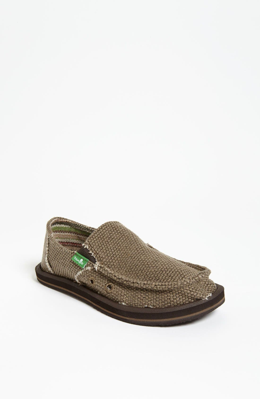 Sanuk 'Vagabond' Slip-On (Toddler, Little Kid & Big Kid)