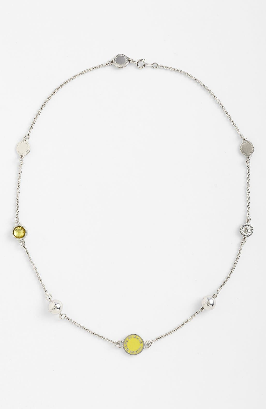 Main Image - MARC BY MARC JACOBS 'Classic Marc' Station Necklace
