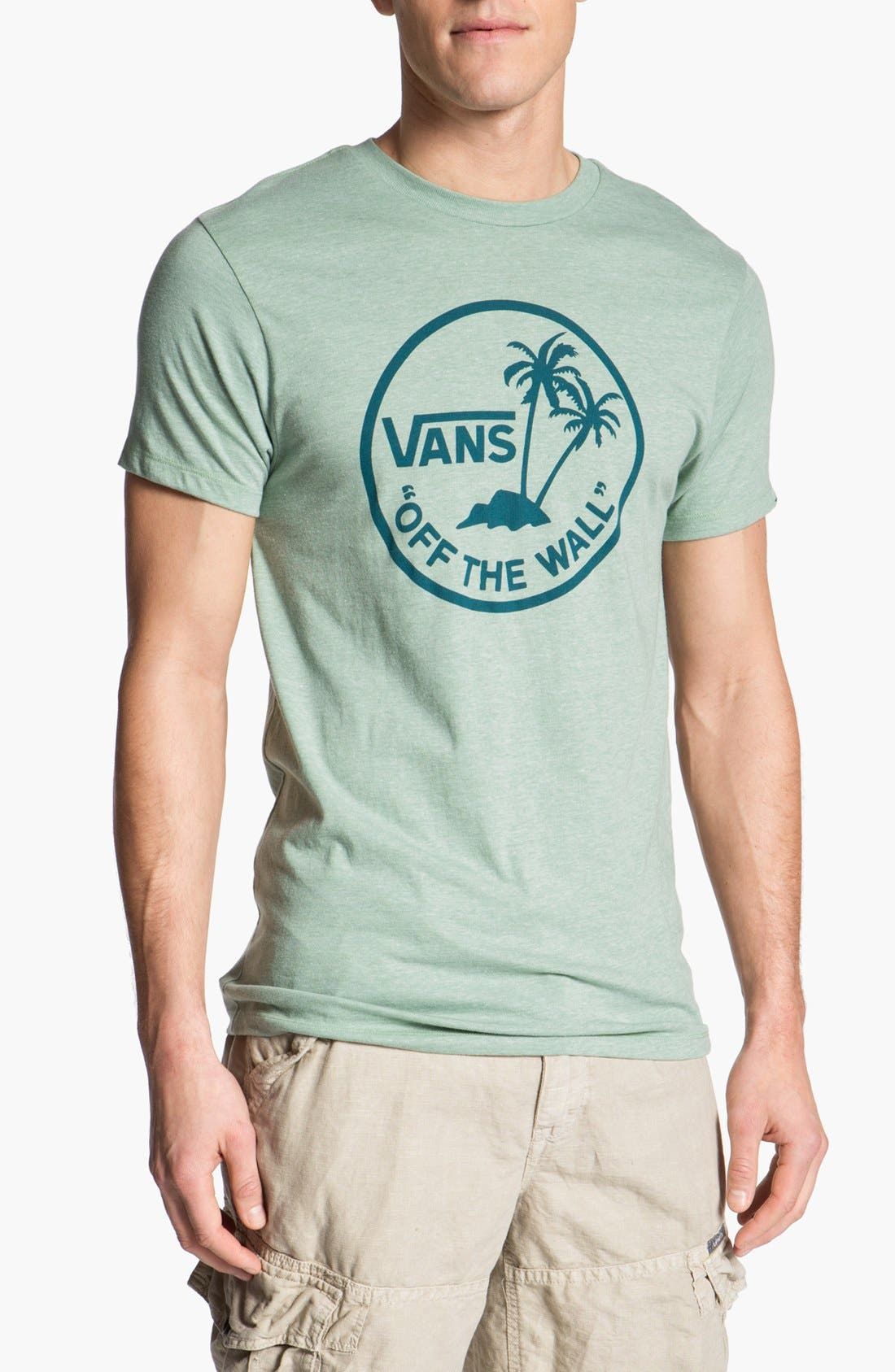 Alternate Image 1 Selected - Vans 'Off the Wall Palm Logo' Graphic T-Shirt