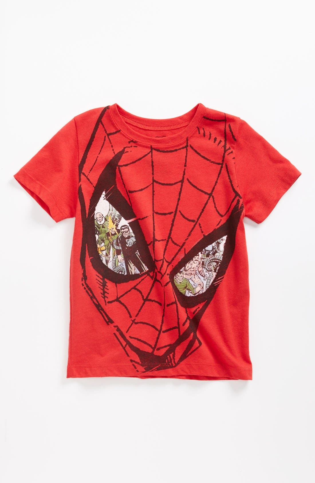 Alternate Image 1 Selected - Mighty Fine 'Spider-Man® Enemy Eyes' T-Shirt (Toddler)