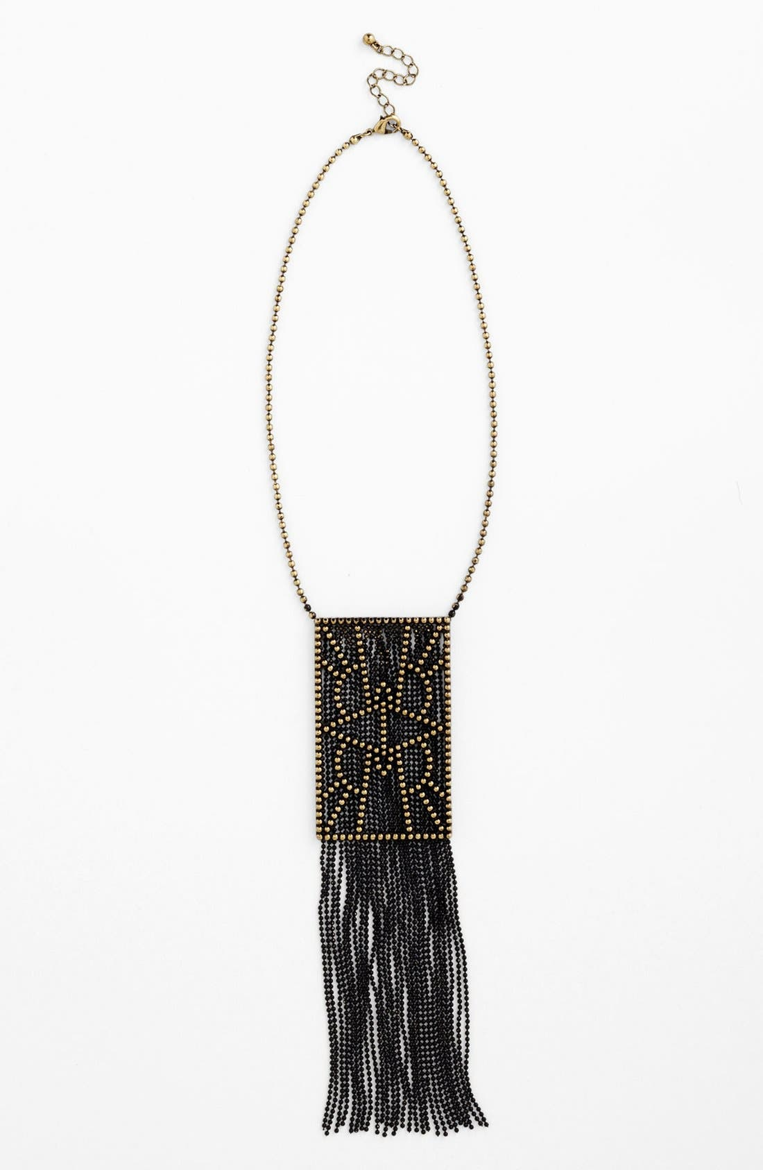 Alternate Image 1 Selected - Carbon Copy 'Feisty Fringe'  Statement Necklace