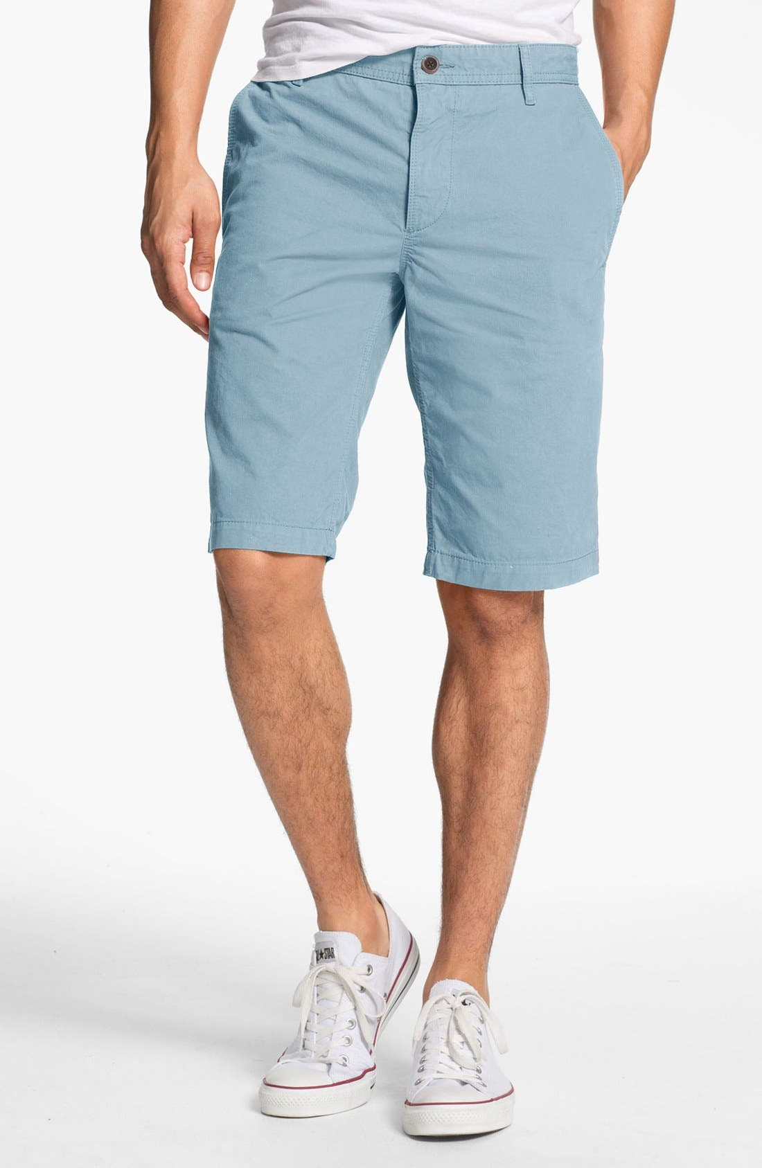 Alternate Image 1 Selected - BOSS Orange Chino Shorts