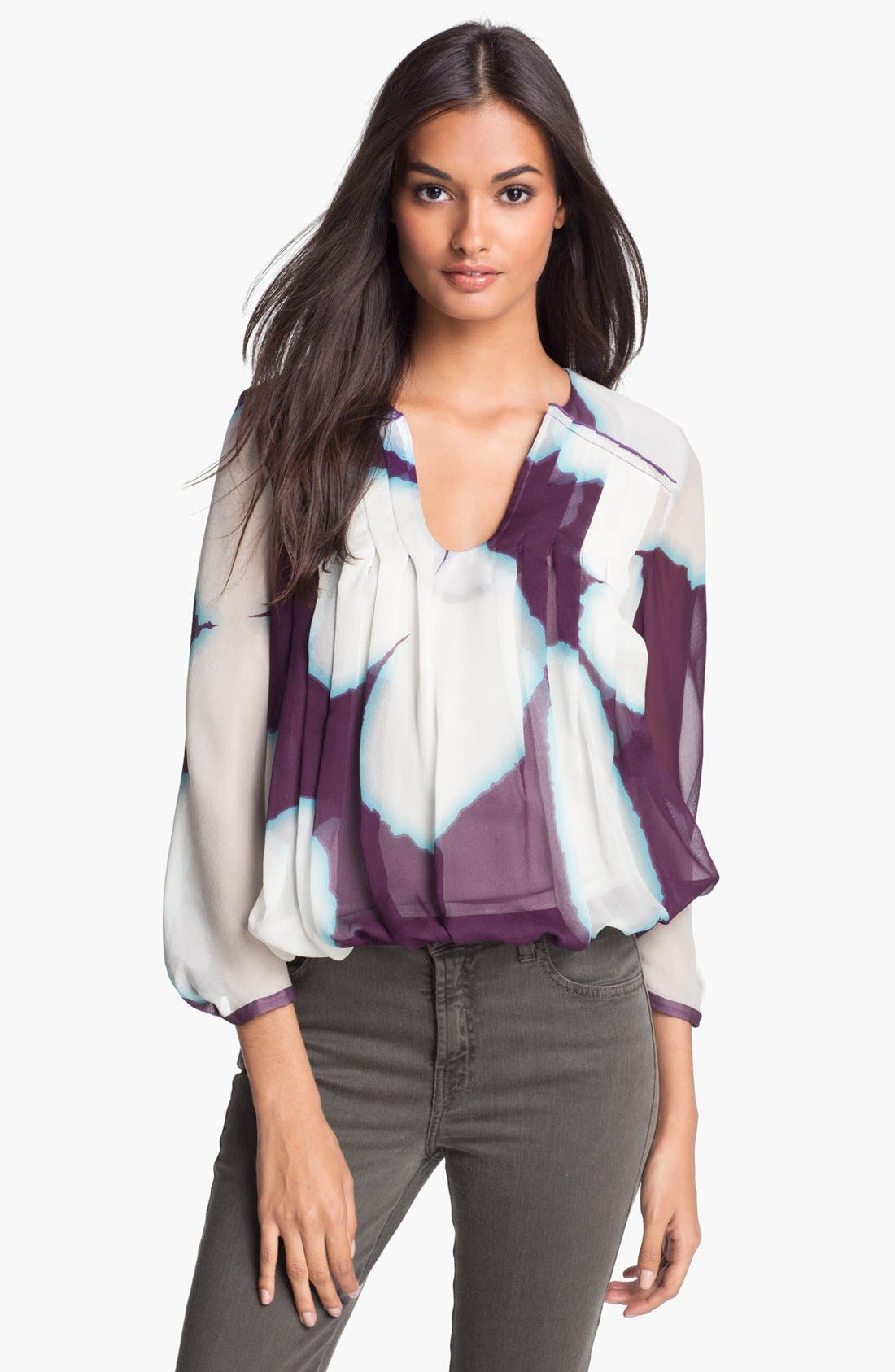 Alternate Image 1 Selected - Diane von Furstenberg 'Anuhea' Silk Blouse