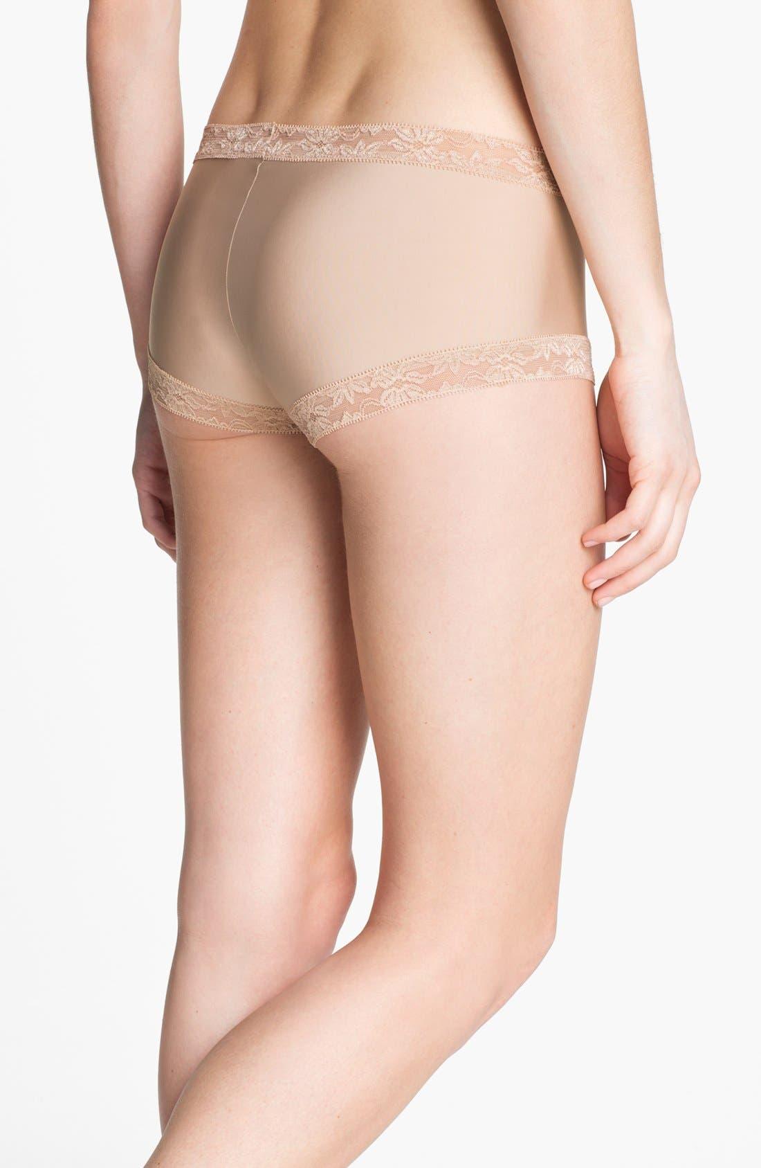 Alternate Image 2  - Natori 'Bliss' Girl Shorts
