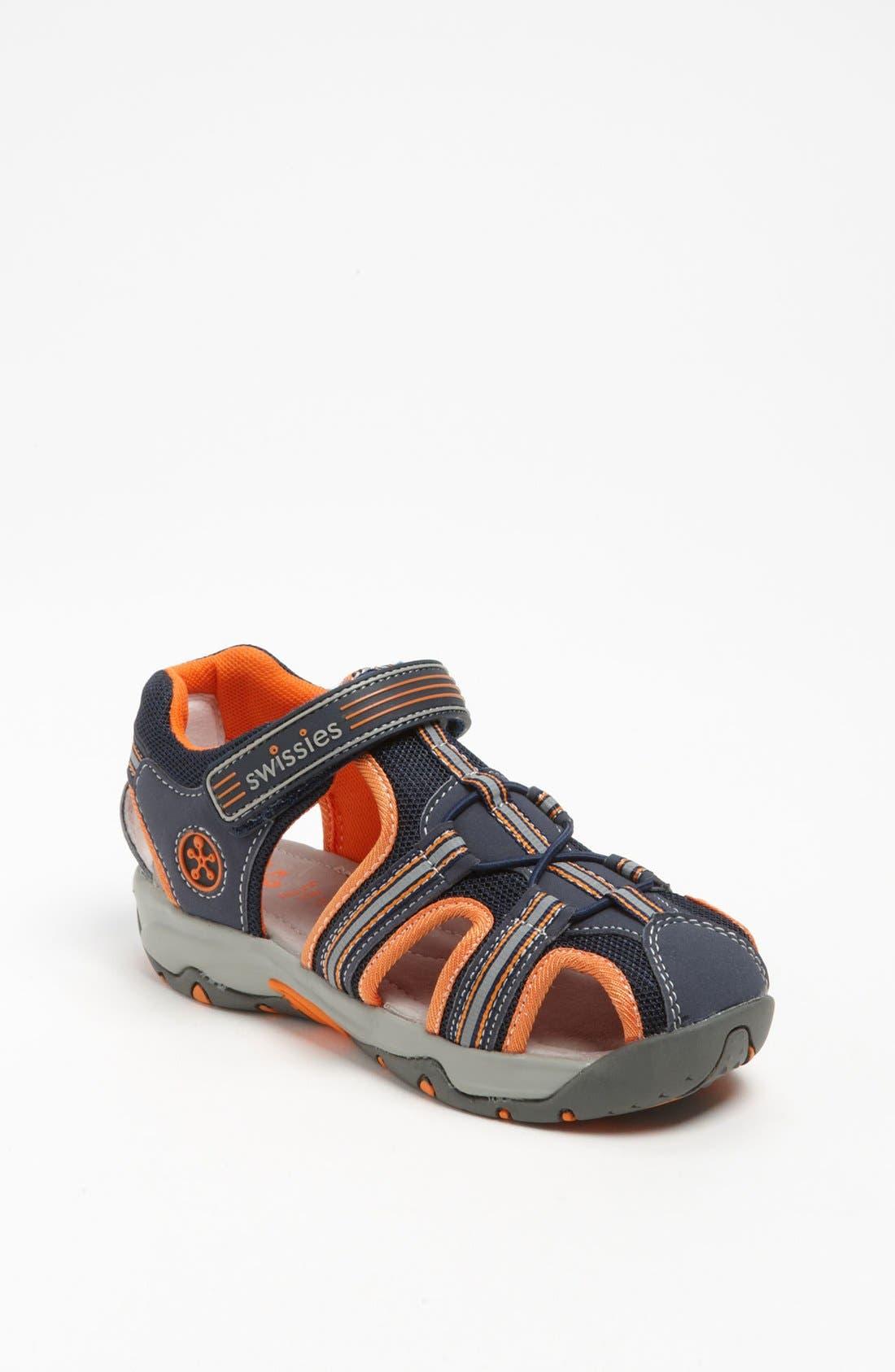 Alternate Image 1 Selected - Swissies 'Rival' Sandal (Toddler & Little Kid)