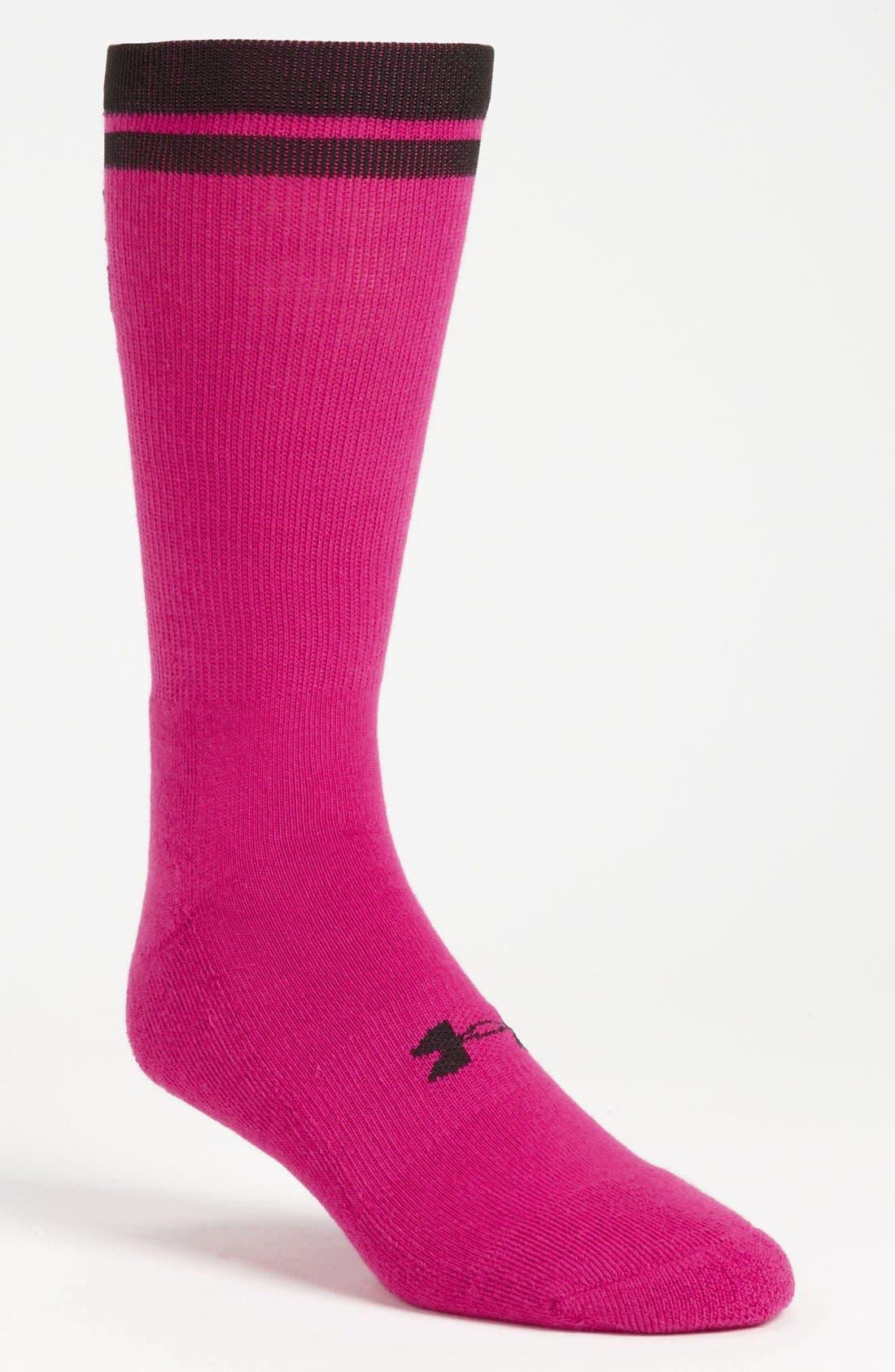 Alternate Image 1 Selected - Under Armour 'Zagger' Crew Socks