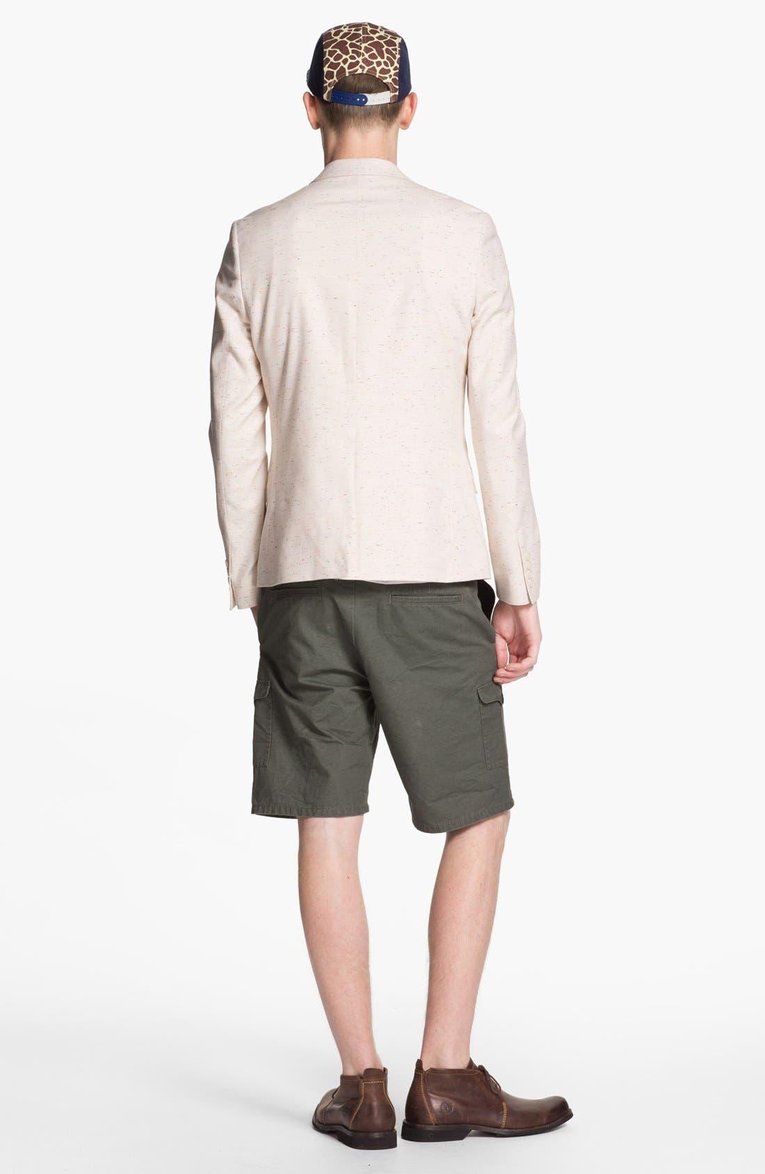 Alternate Image 3  - Topman Cargo Shorts