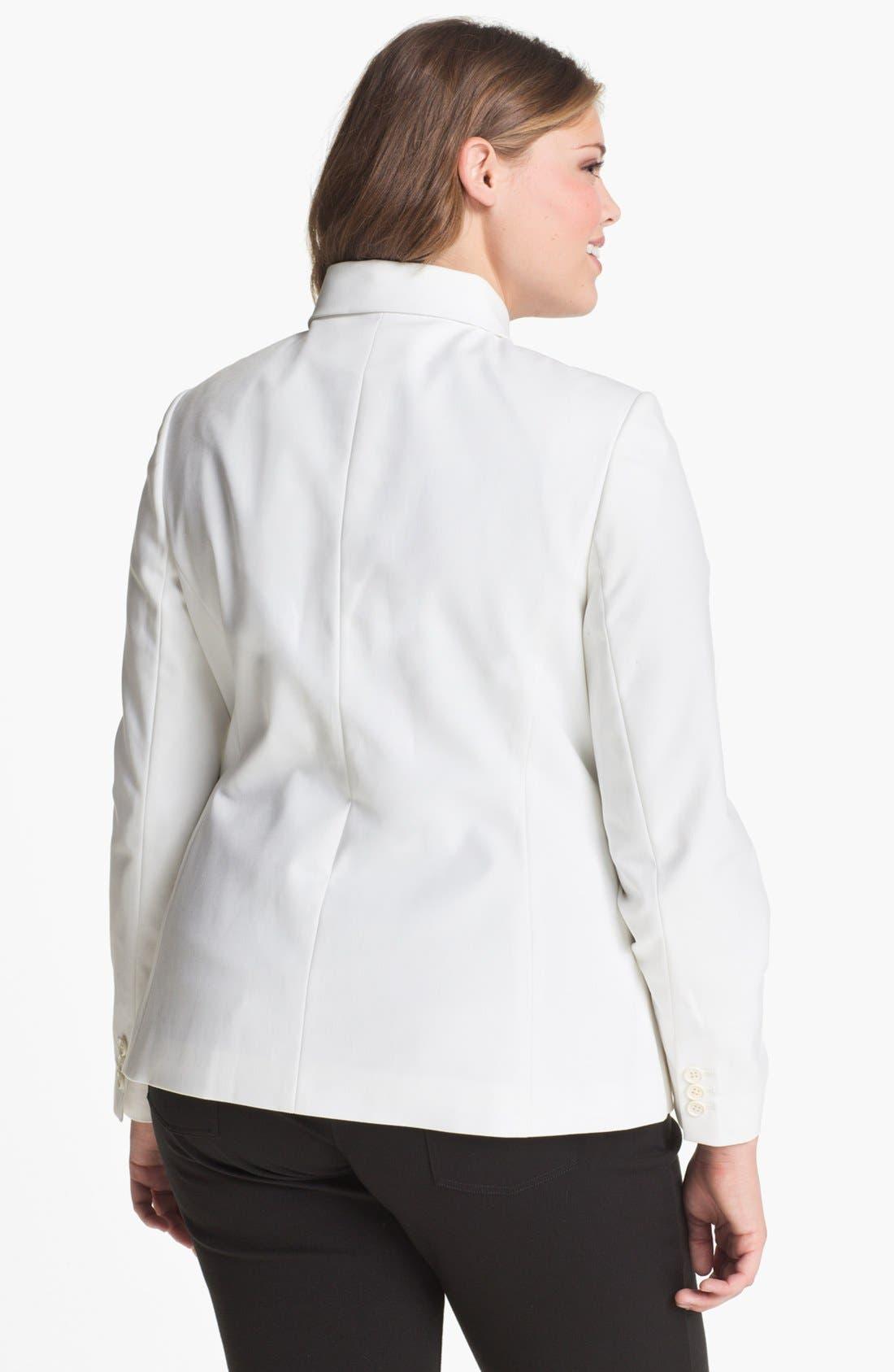 Alternate Image 2  - Tahari Woman 'Carina' Jacket (Plus)