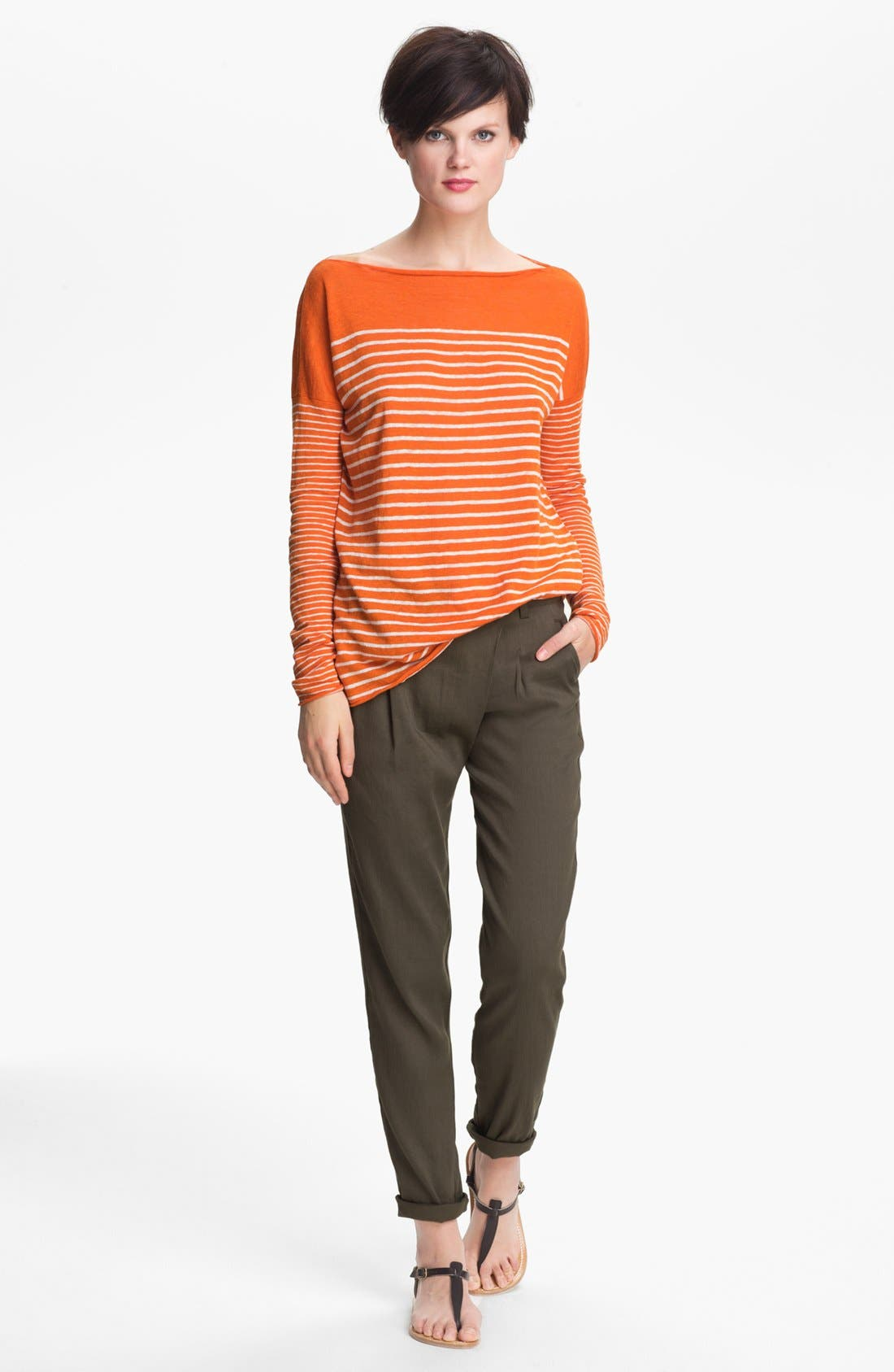 Alternate Image 1 Selected - Vince Stripe Sweater