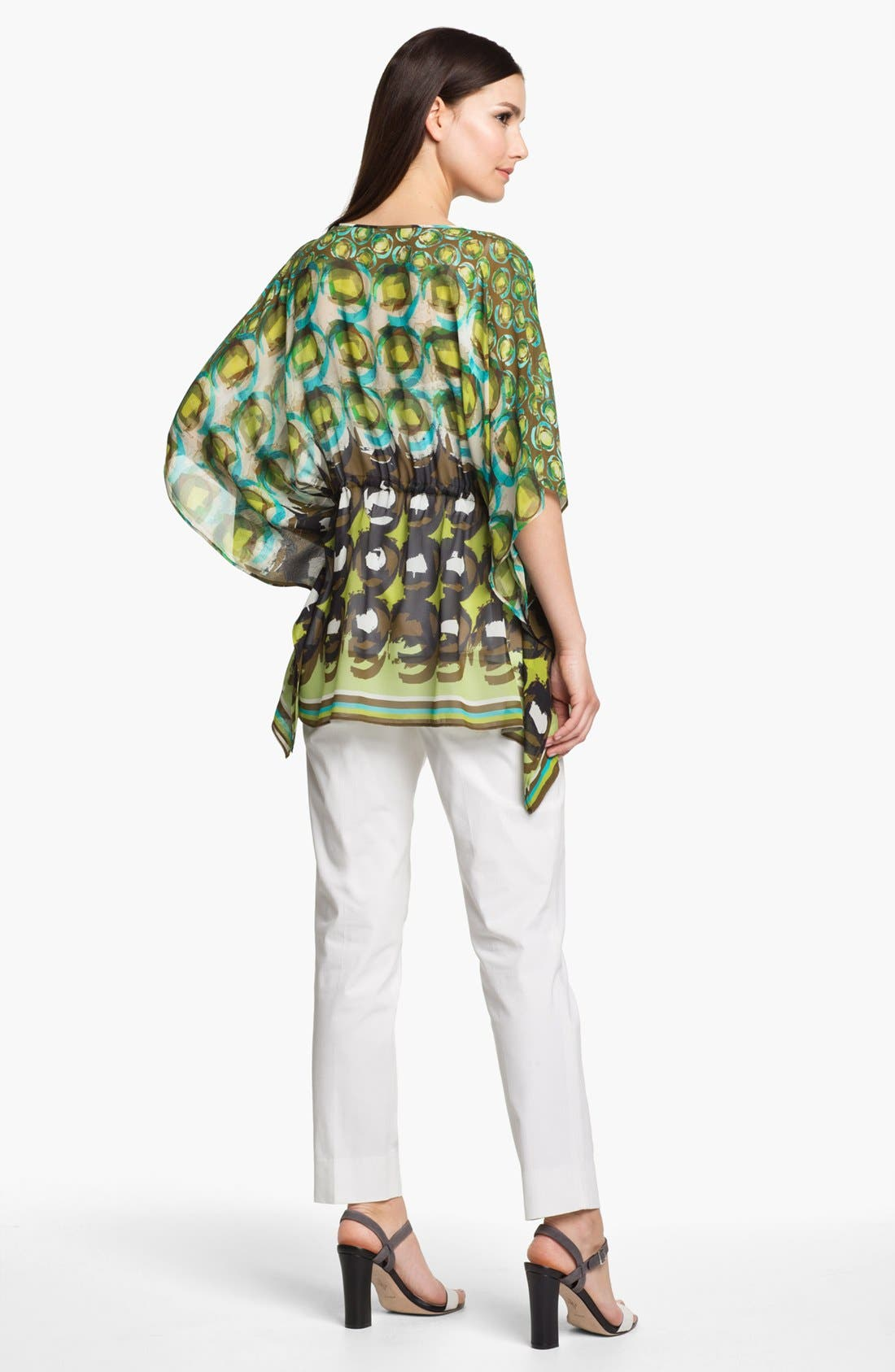 Alternate Image 5  - Lafayette 148 New York 'Galia - Shangrila' Silk Tunic