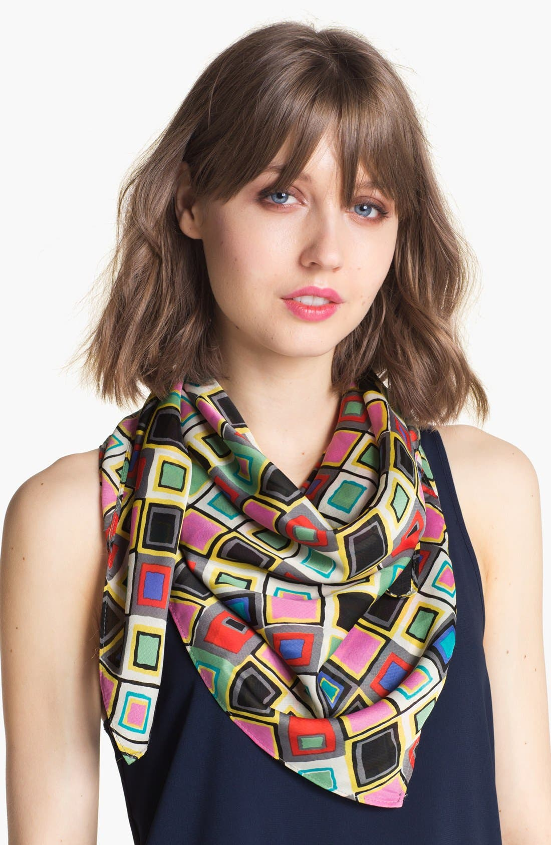Alternate Image 1 Selected - Tasha 'Retro Geo' Square Scarf