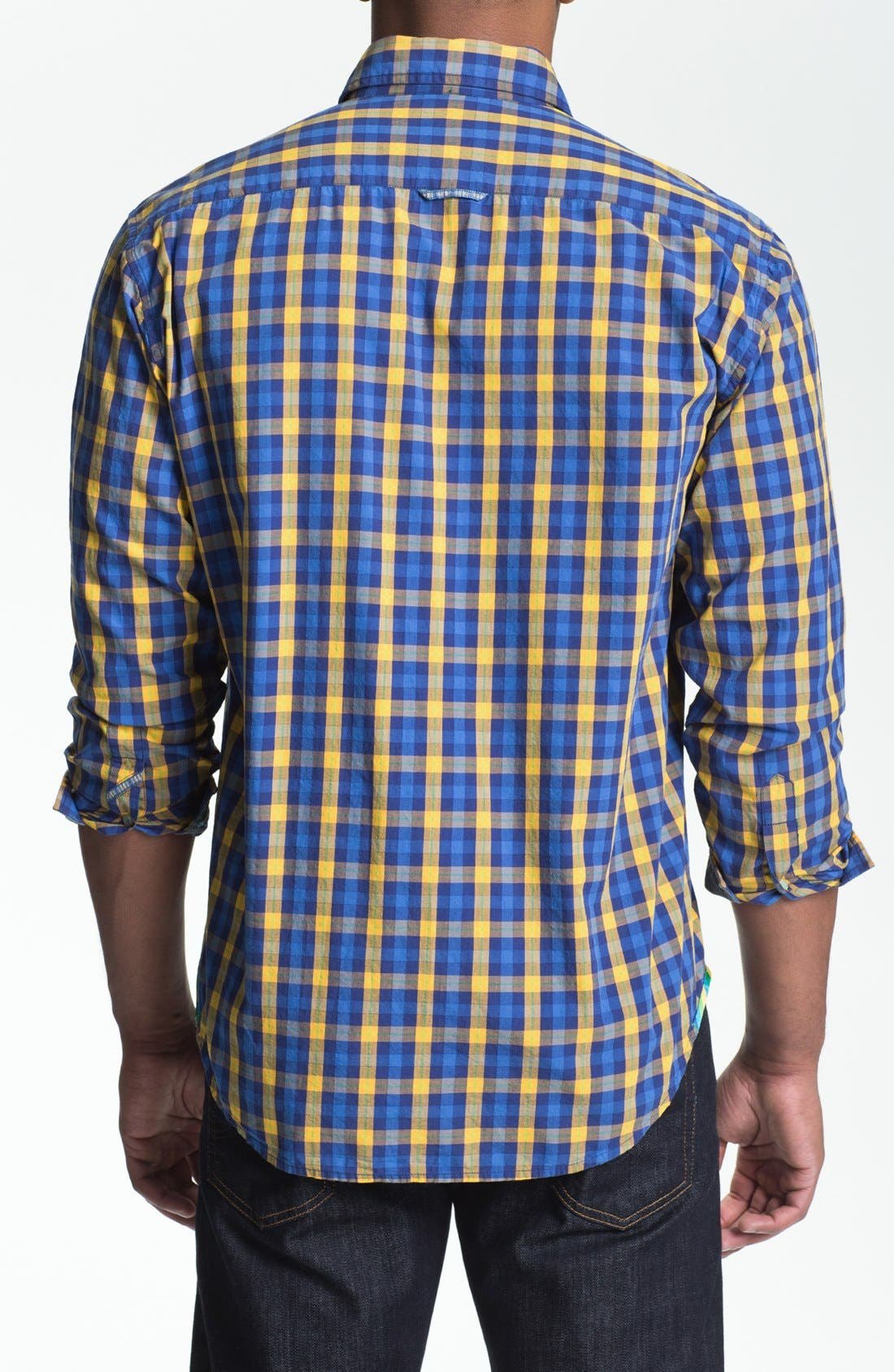 Alternate Image 3  - Robert Graham 'Malevich' Regular Fit Sport Shirt